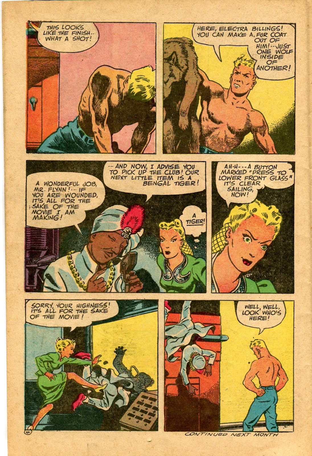 Read online Famous Funnies comic -  Issue #136 - 30