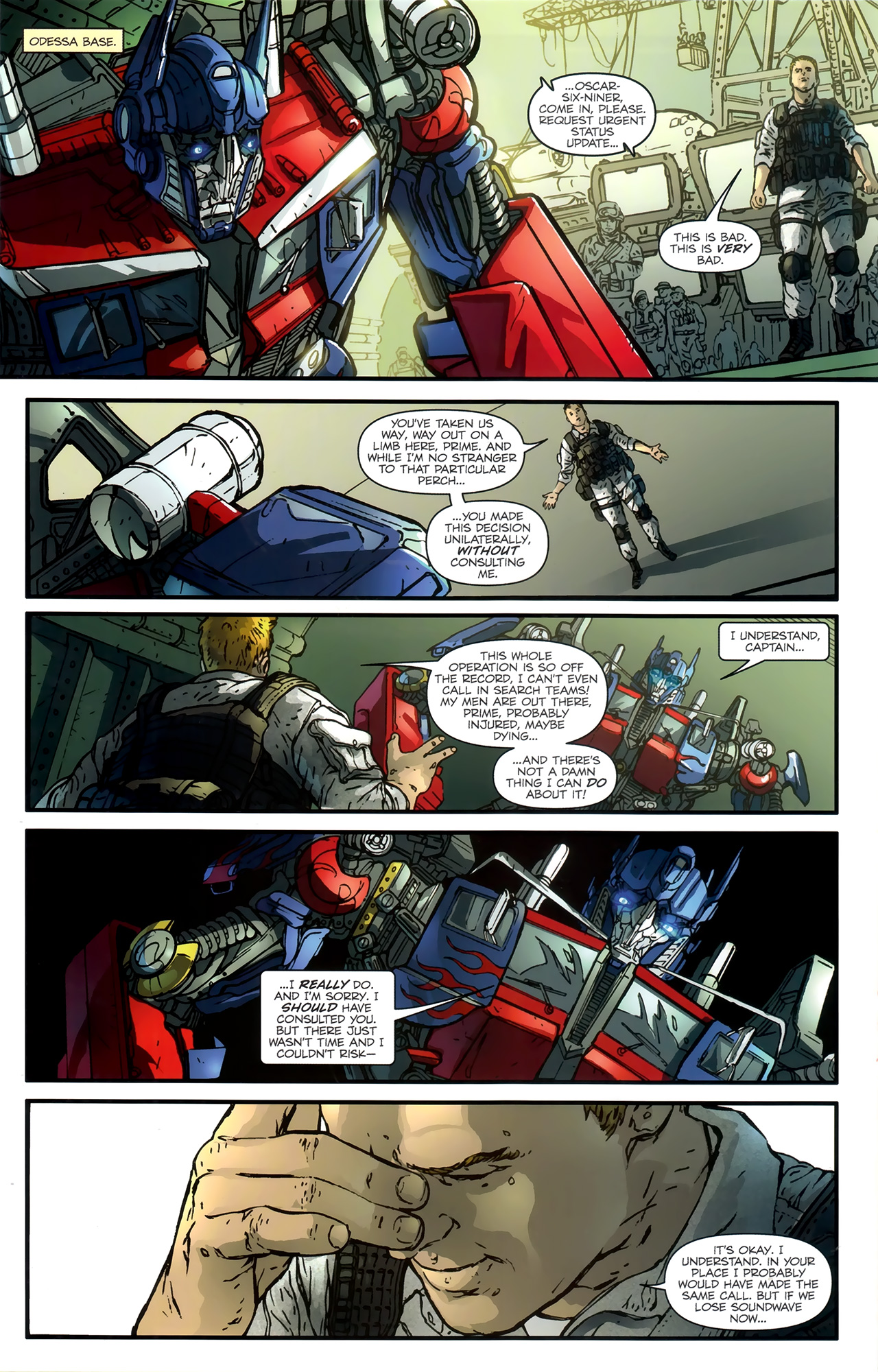 Read online Transformers: Nefarious comic -  Issue #3 - 17