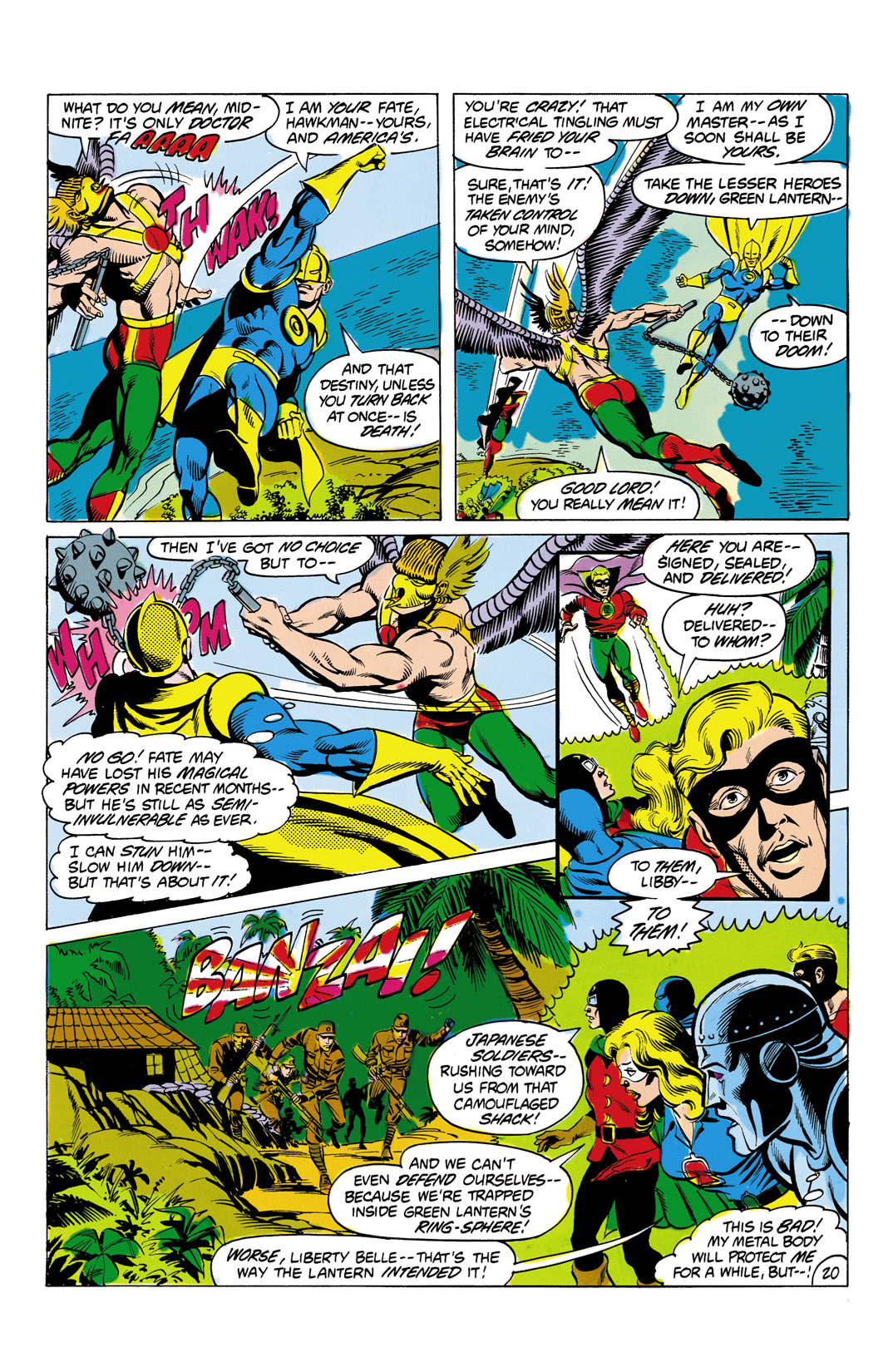 Read online All-Star Squadron comic -  Issue #4 - 21