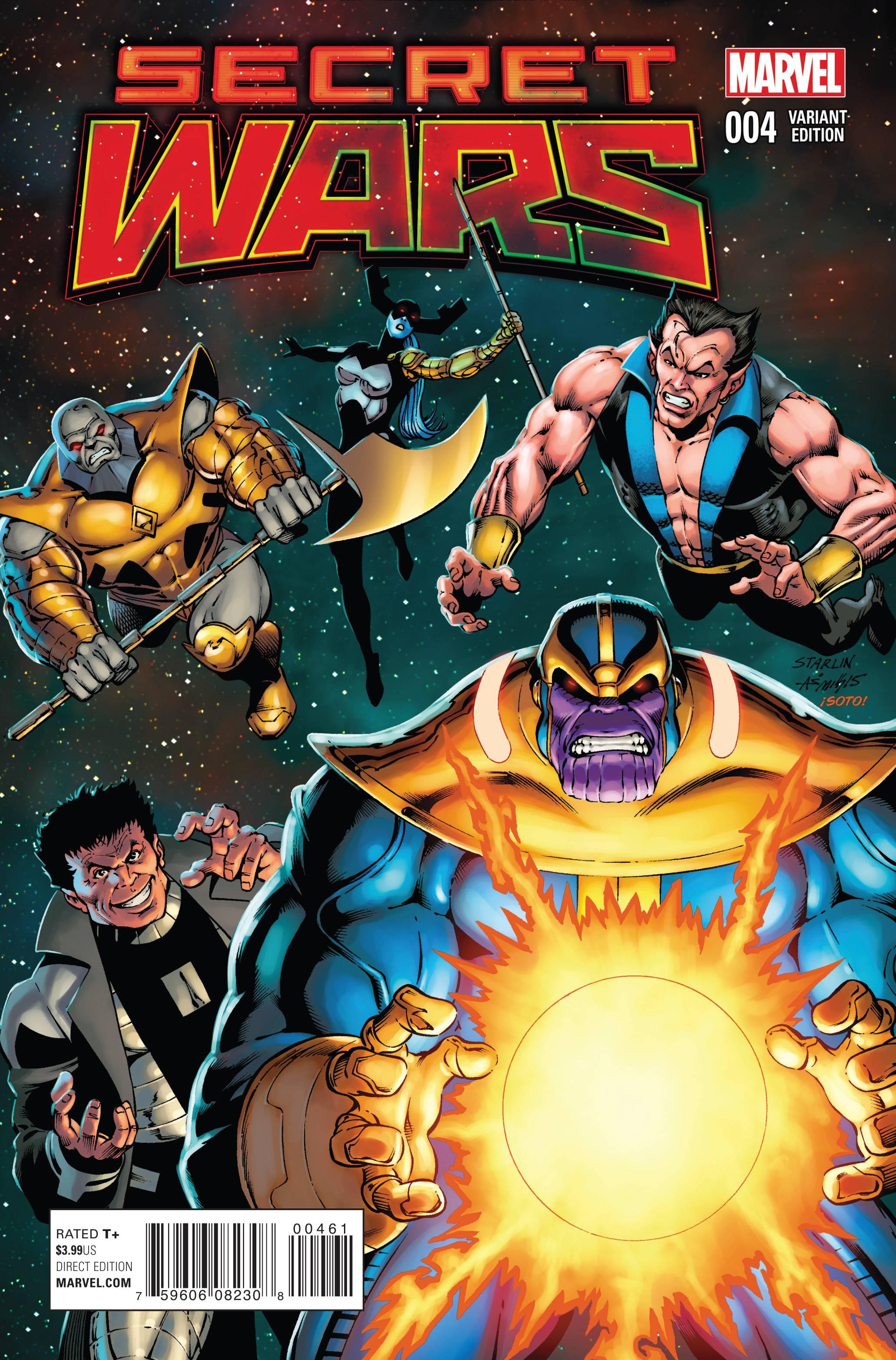 Read online Secret Wars comic -  Issue #4 - 6