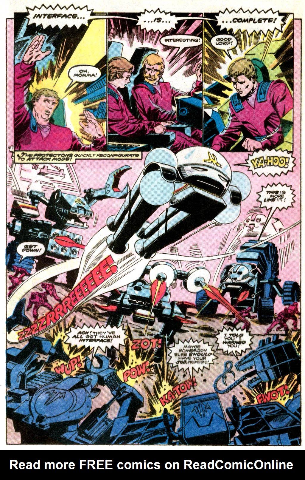 Read online Robotix comic -  Issue # Full - 12