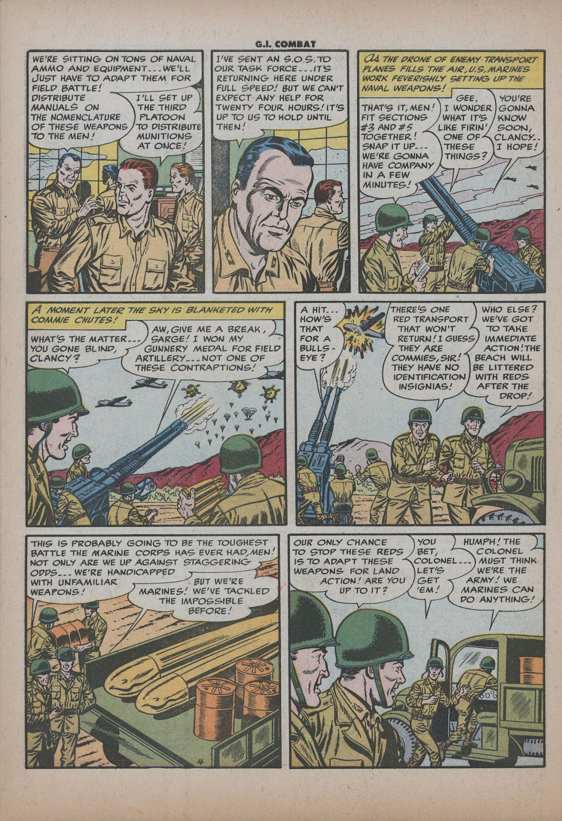 G.I. Combat (1952) issue 26 - Page 6