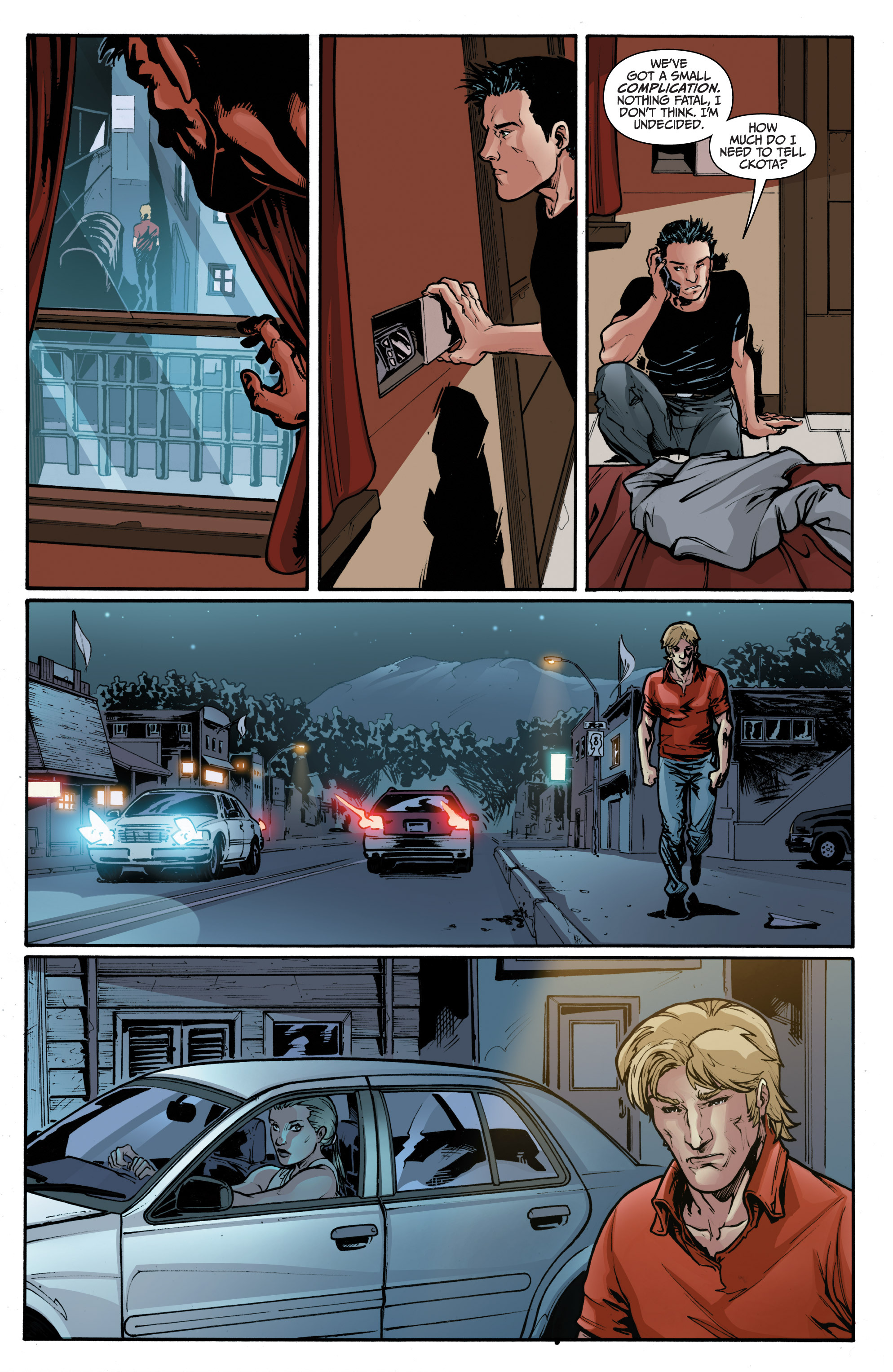 Read online 3 Guns comic -  Issue #1 - 16