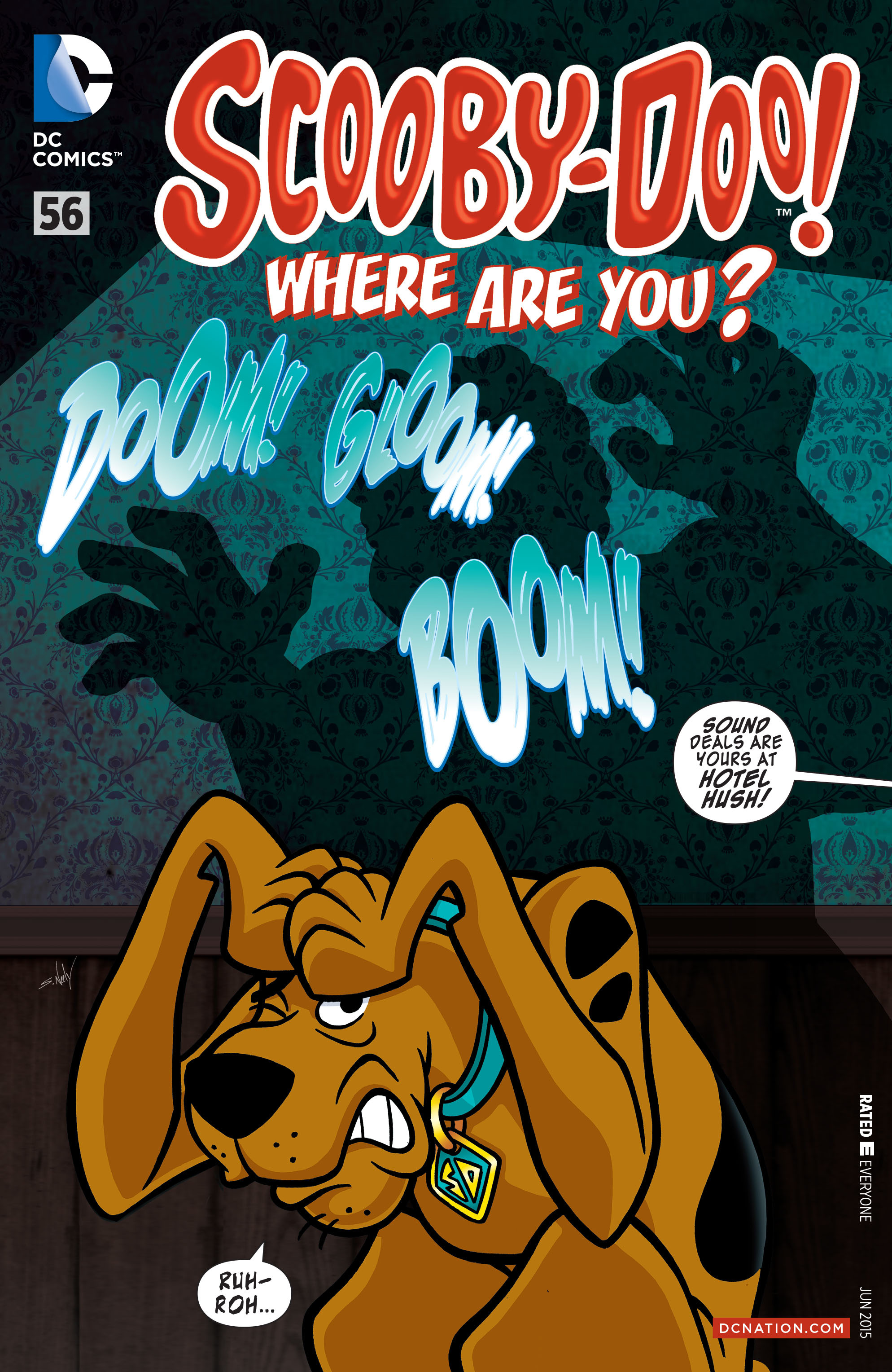Read online Scooby-Doo: Where Are You? comic -  Issue #56 - 1