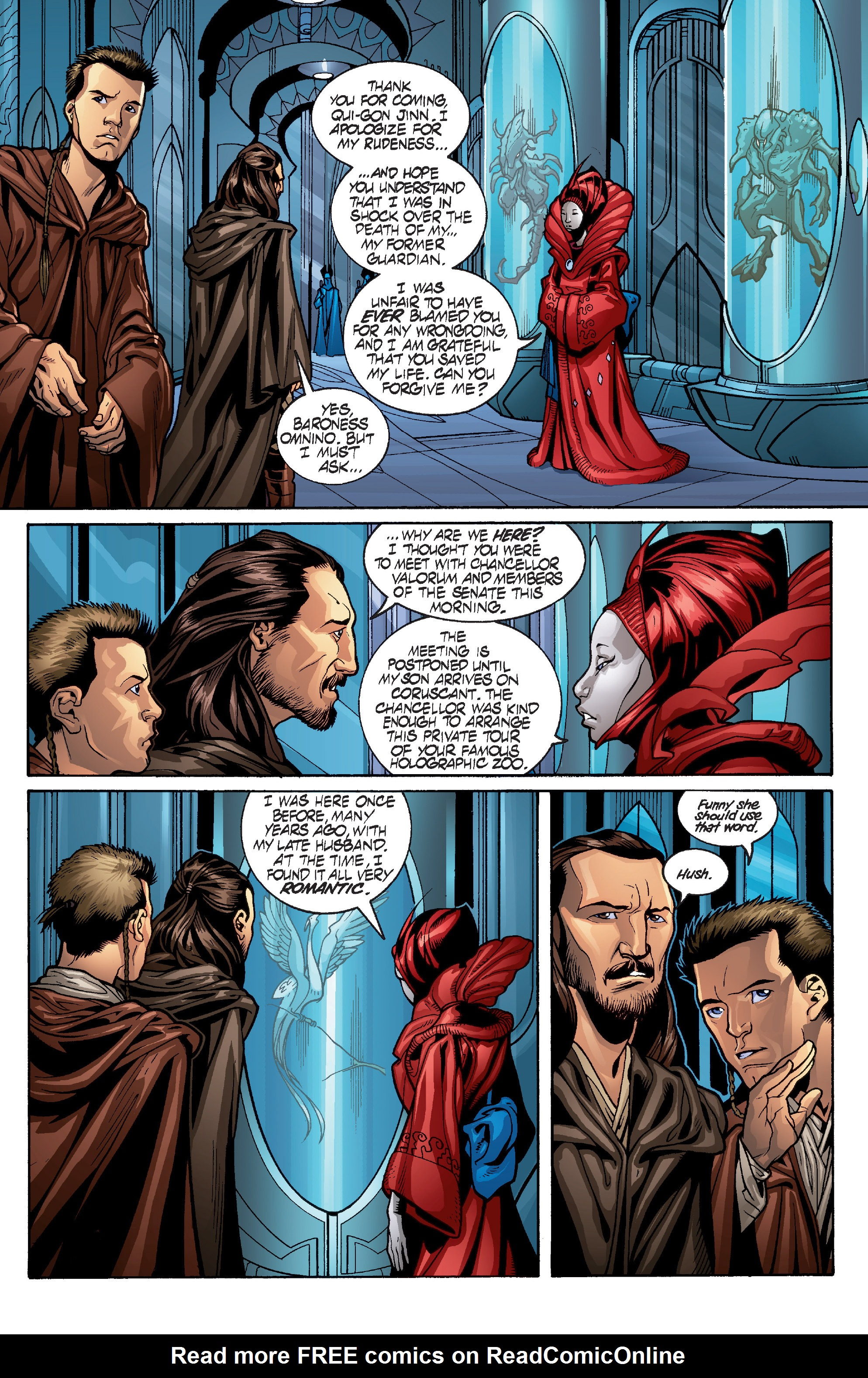 Read online Star Wars: Qui-Gon & Obi-Wan - Last Stand on Ord Mantell comic -  Issue #1 - 10