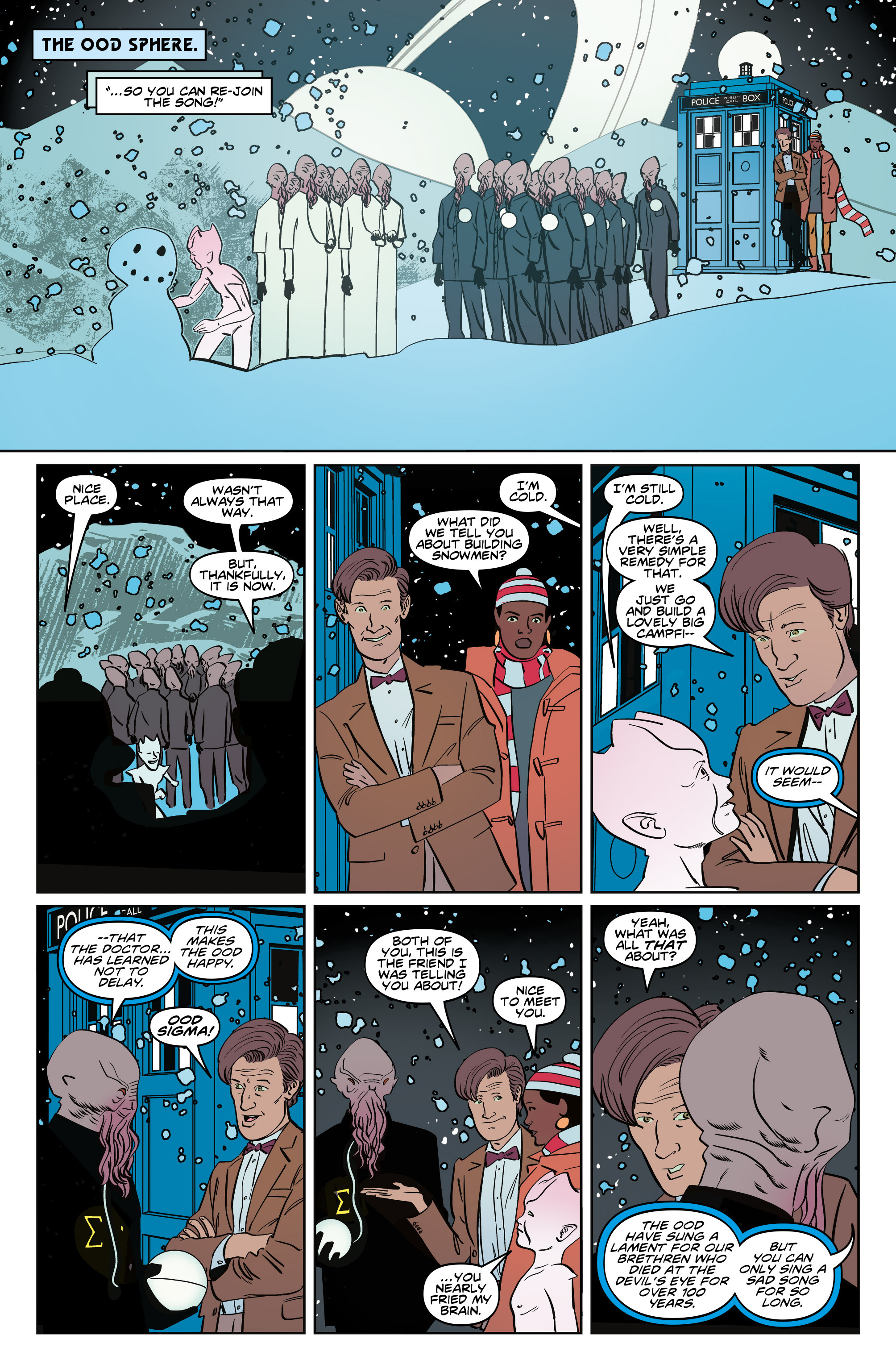 Read online Doctor Who: The Eleventh Doctor Year Three comic -  Issue #5 - 26