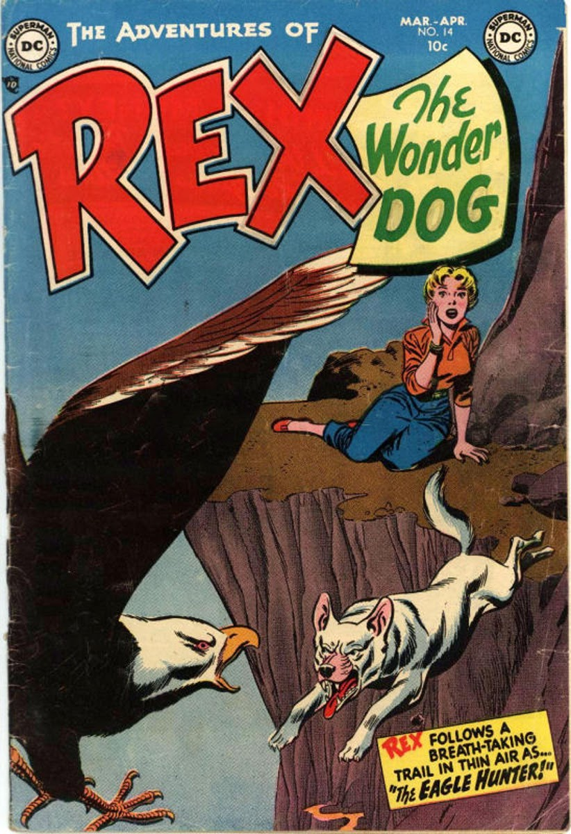 The Adventures of Rex the Wonder Dog issue 14 - Page 1