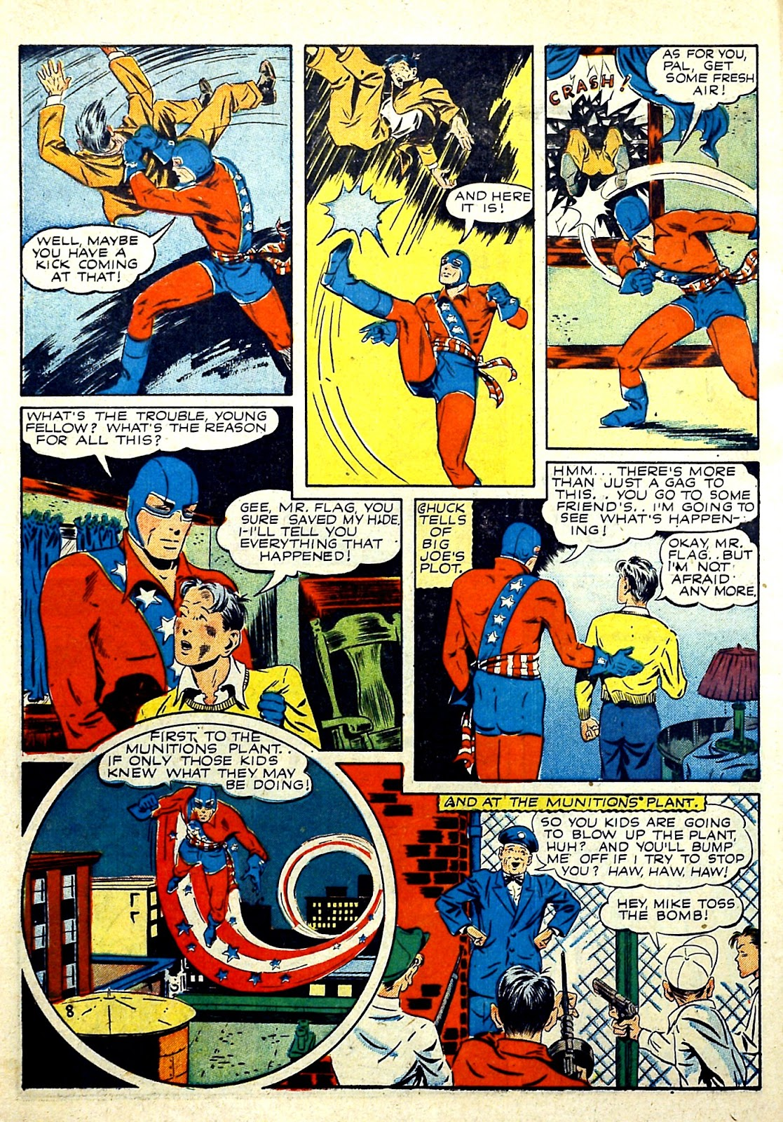 Our Flag Comics issue 4 - Page 10