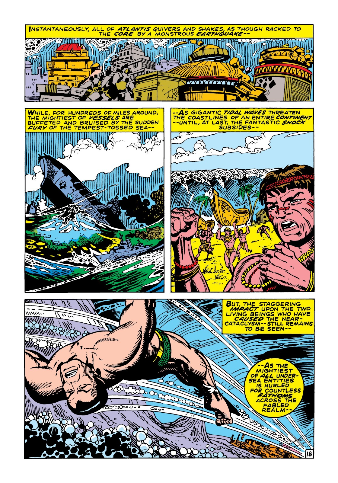 Read online Marvel Masterworks: The Incredible Hulk comic -  Issue # TPB 5 (Part 2) - 71