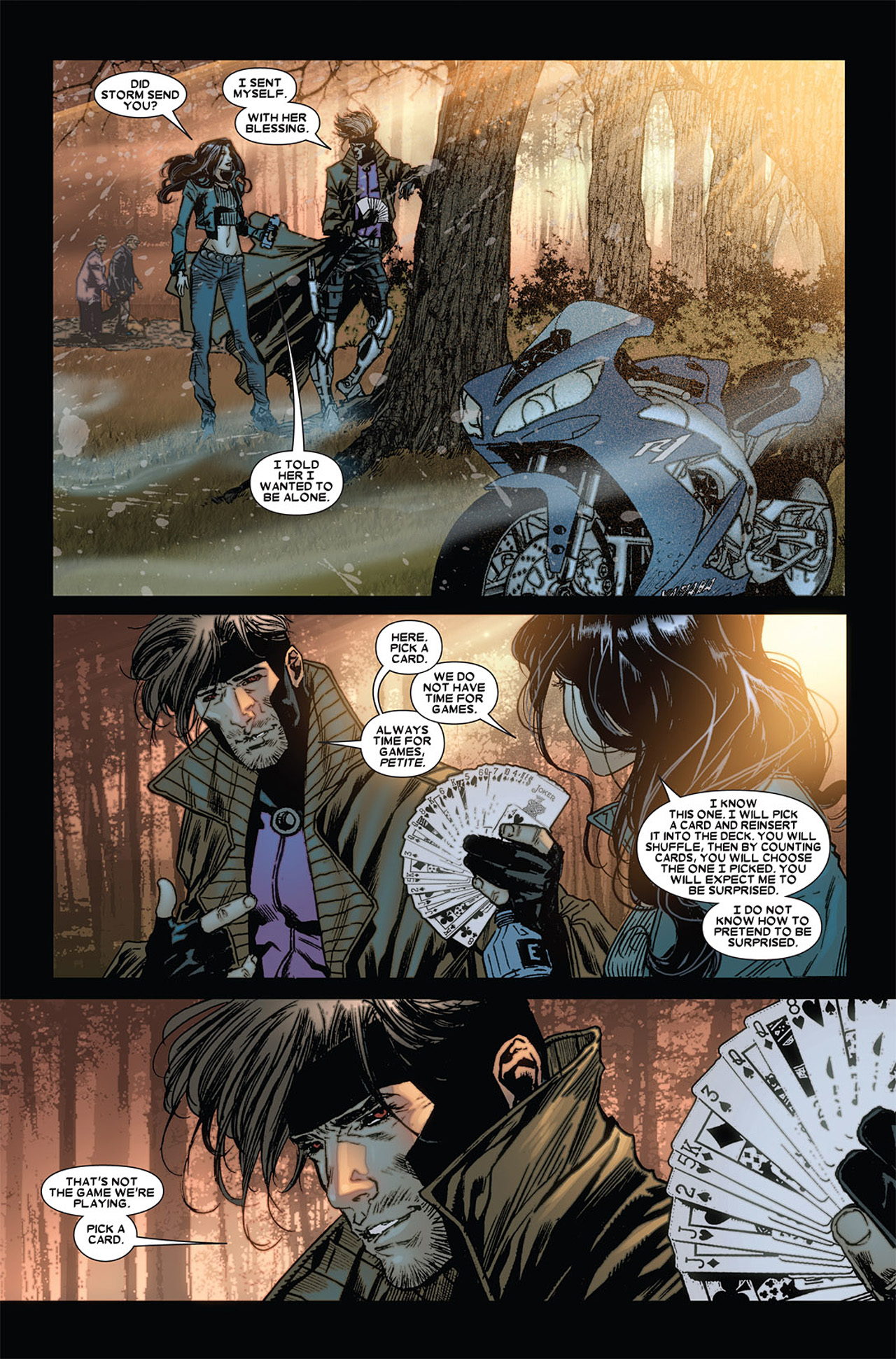 Read online X-23 (2010) comic -  Issue #4 - 16