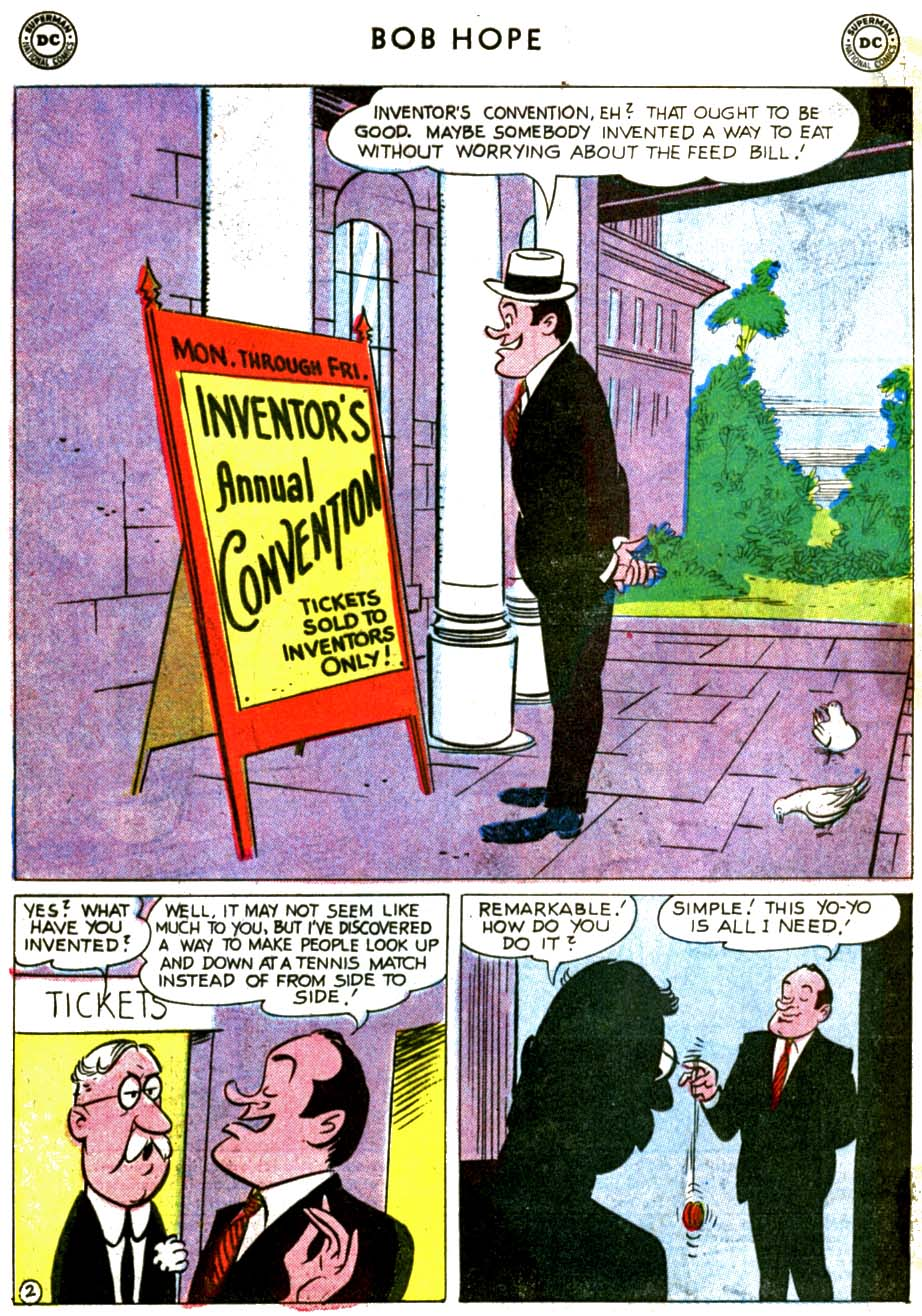 The Adventures of Bob Hope issue 68 - Page 4