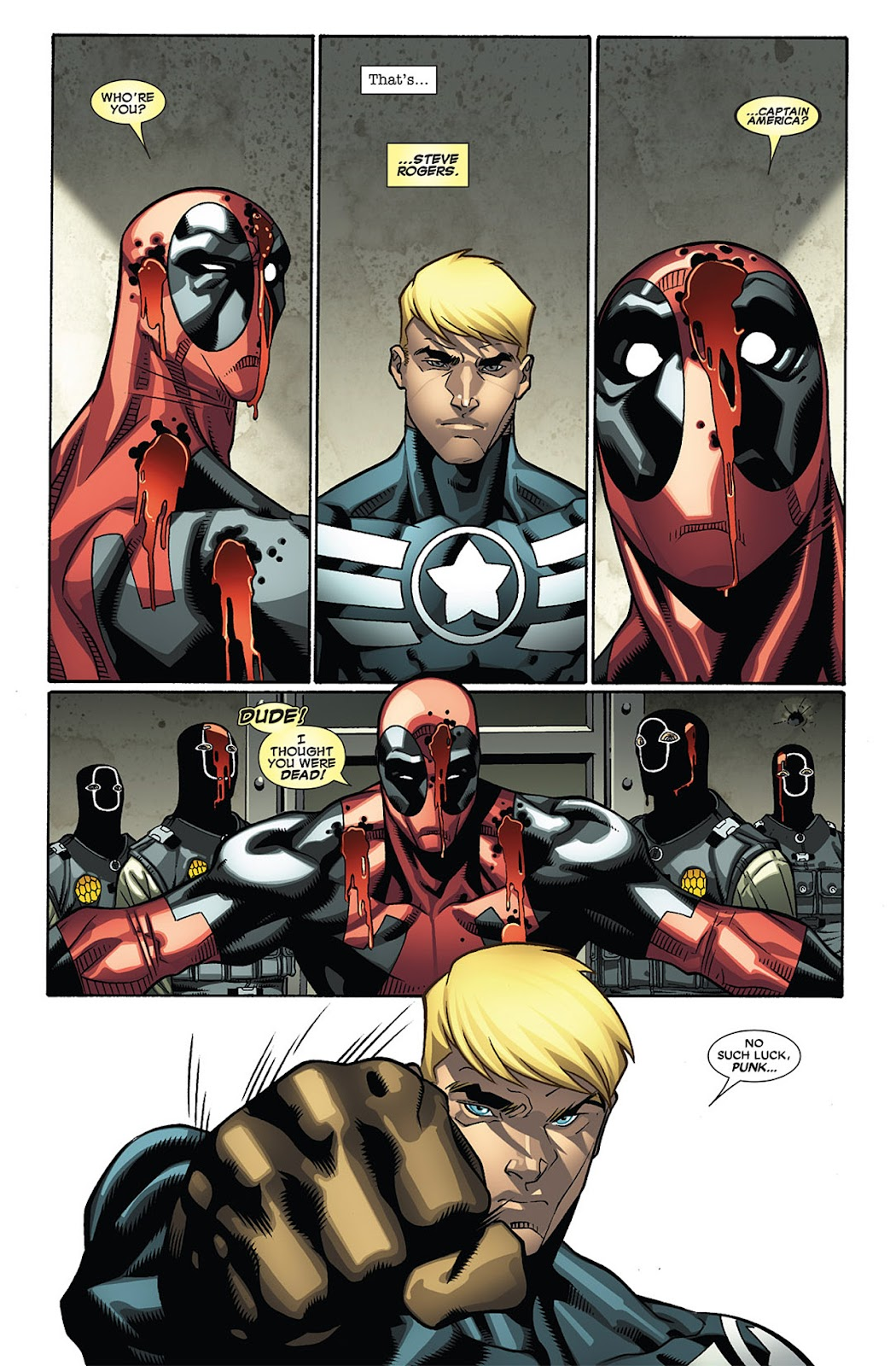 Read online Deadpool (2008) comic -  Issue #27 - 16