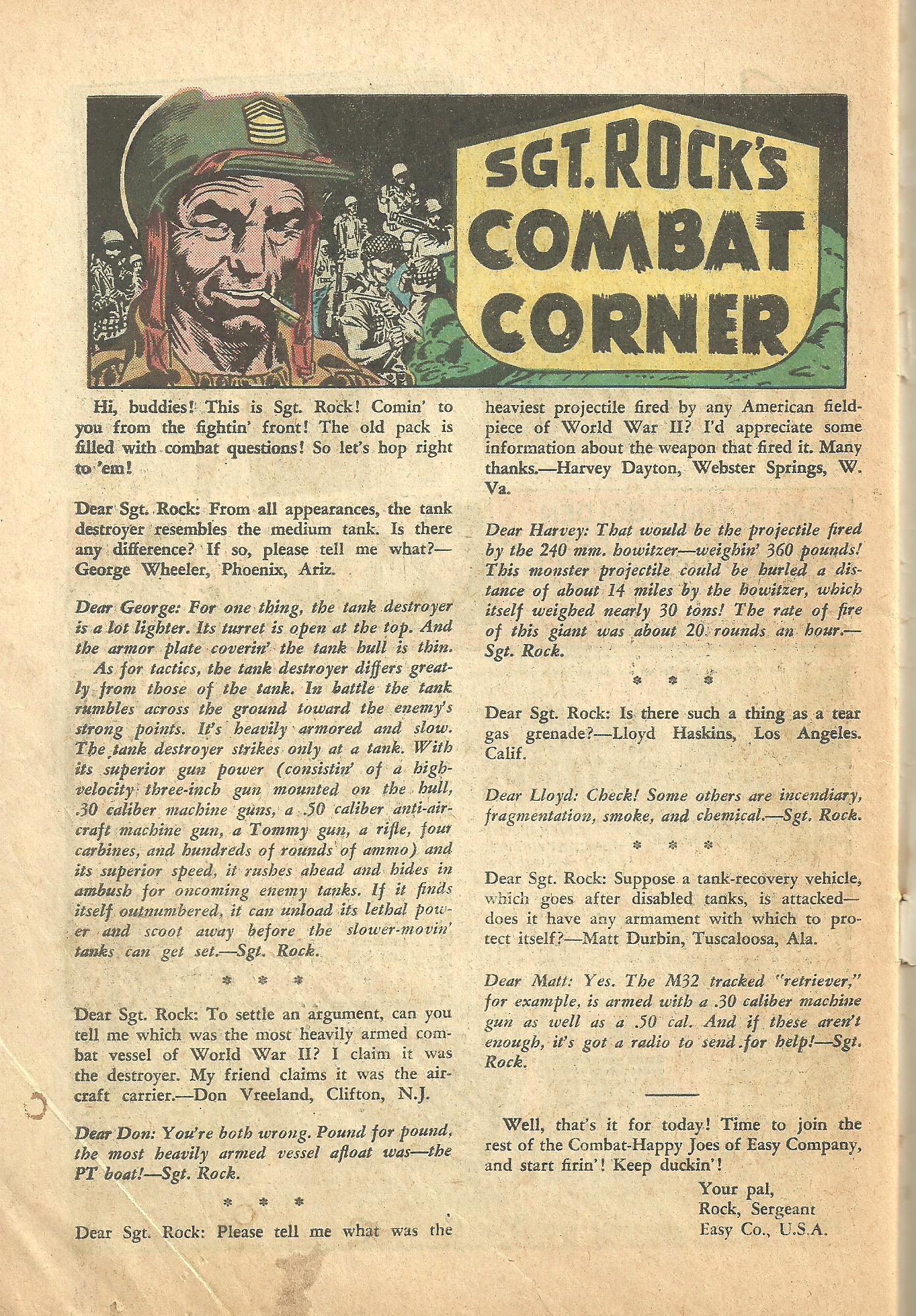 G.I. Combat (1952) 111 Page 29