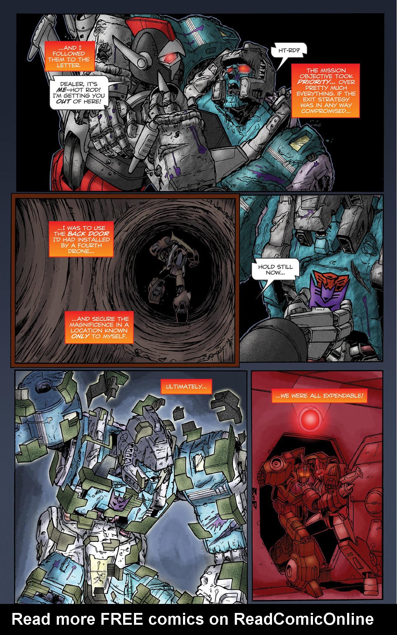 Read online Transformers Spotlight: Hot Rod comic -  Issue # Full - 20