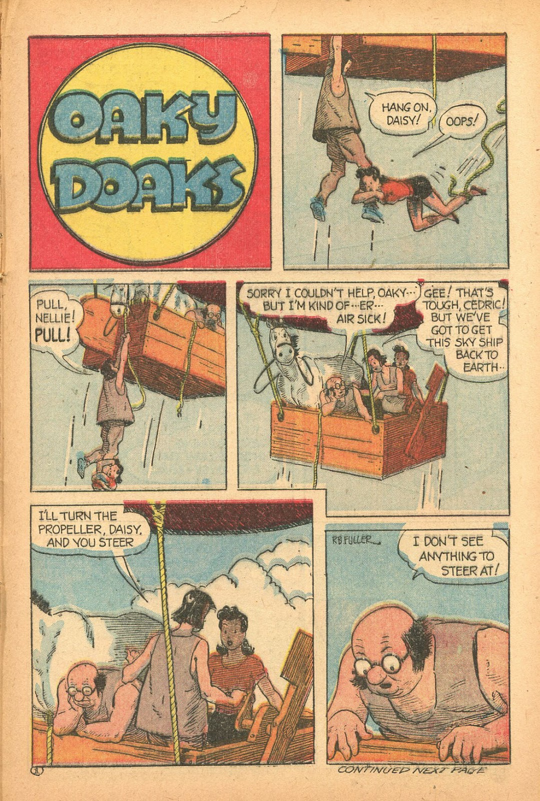 Read online Famous Funnies comic -  Issue #132 - 29