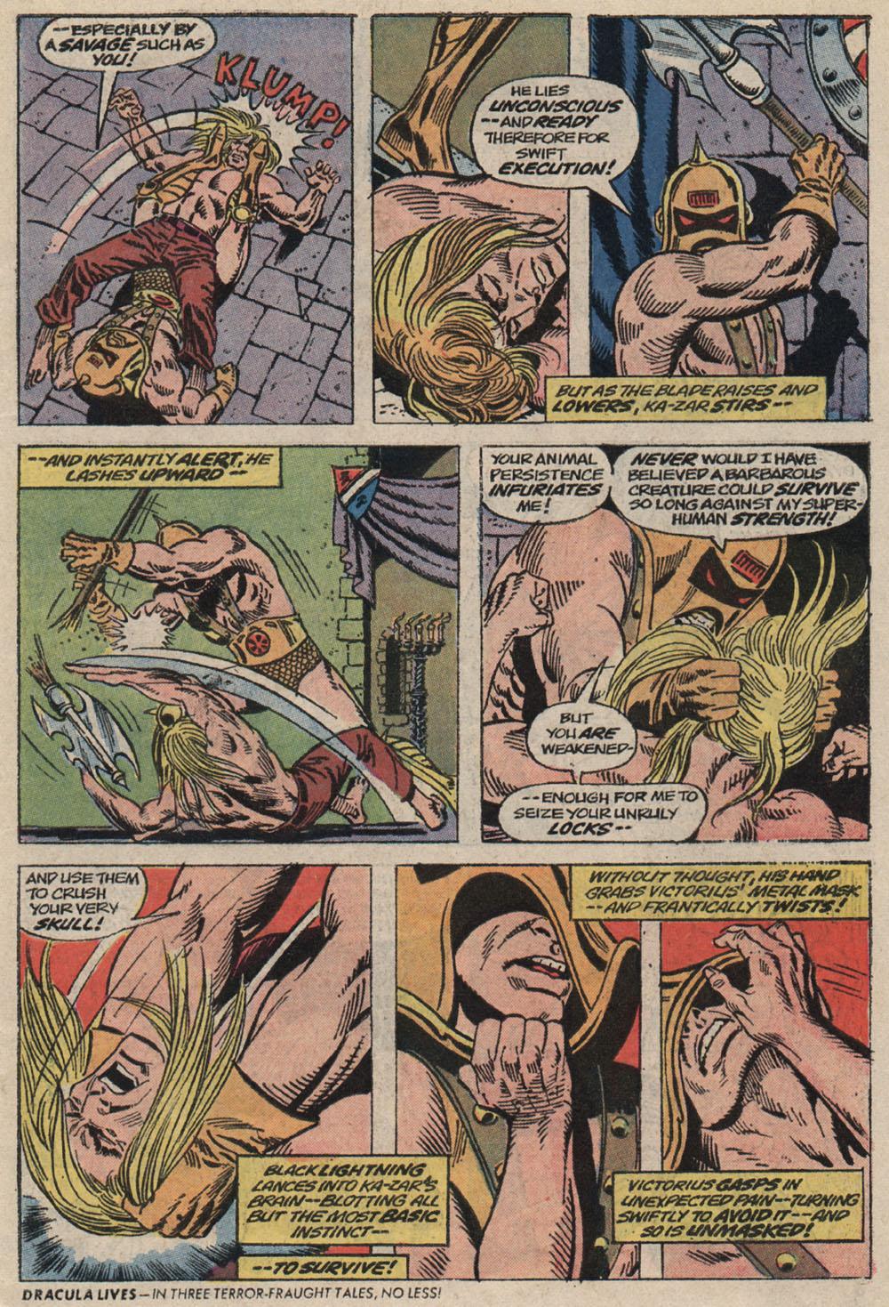 Read online Astonishing Tales (1970) comic -  Issue #20 - 5