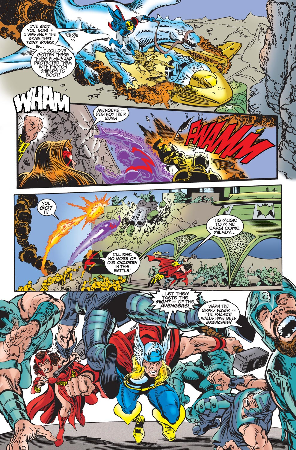 Read online Avengers (1998) comic -  Issue #18 - 8