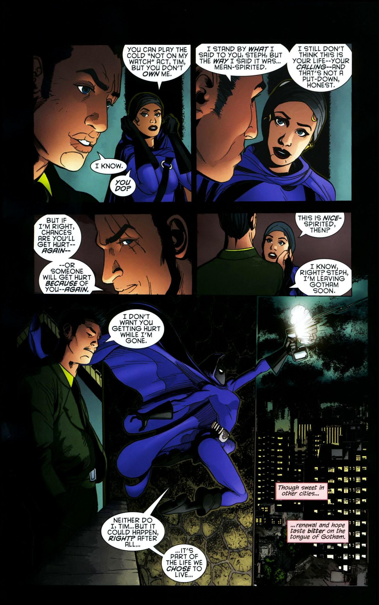 Read online Gotham Gazette comic -  Issue # Issue Batman Alive - 17