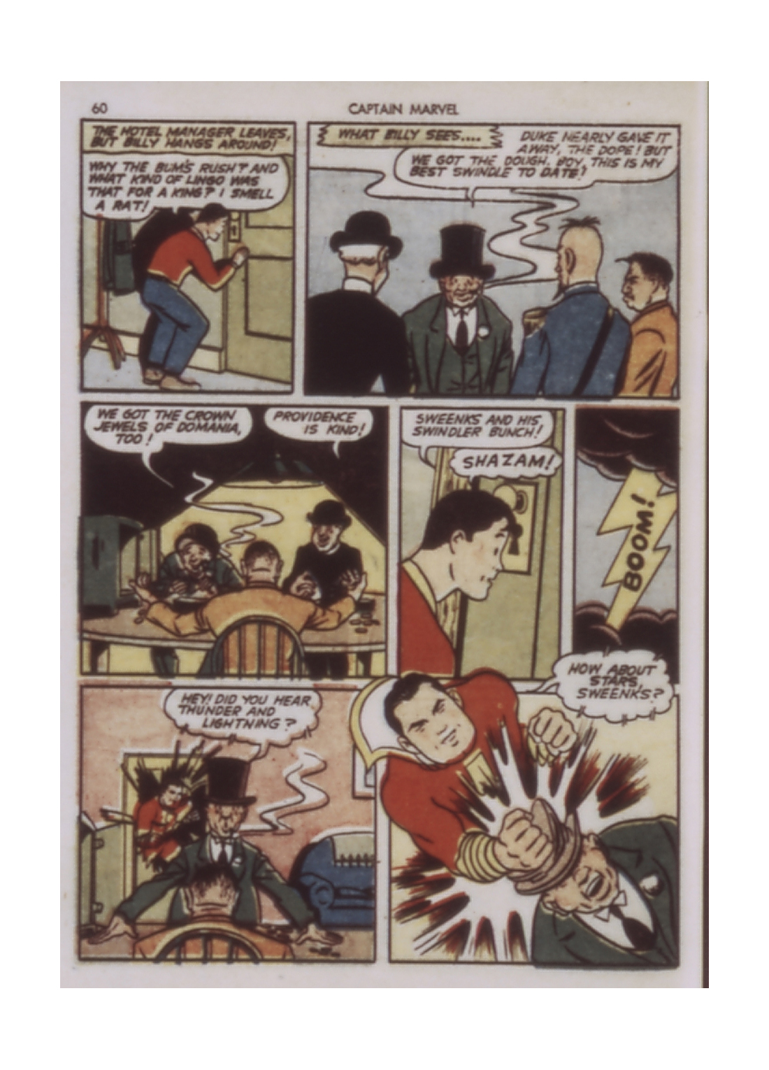 Captain Marvel Adventures issue 9 - Page 60