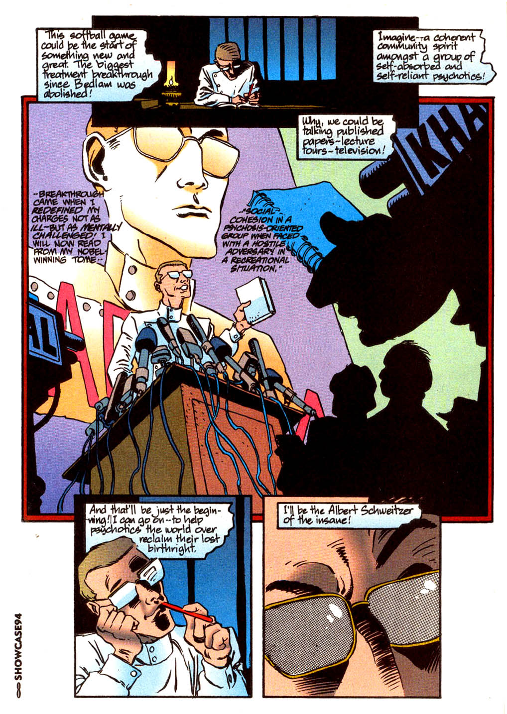 Read online Showcase '94 comic -  Issue #4 - 7