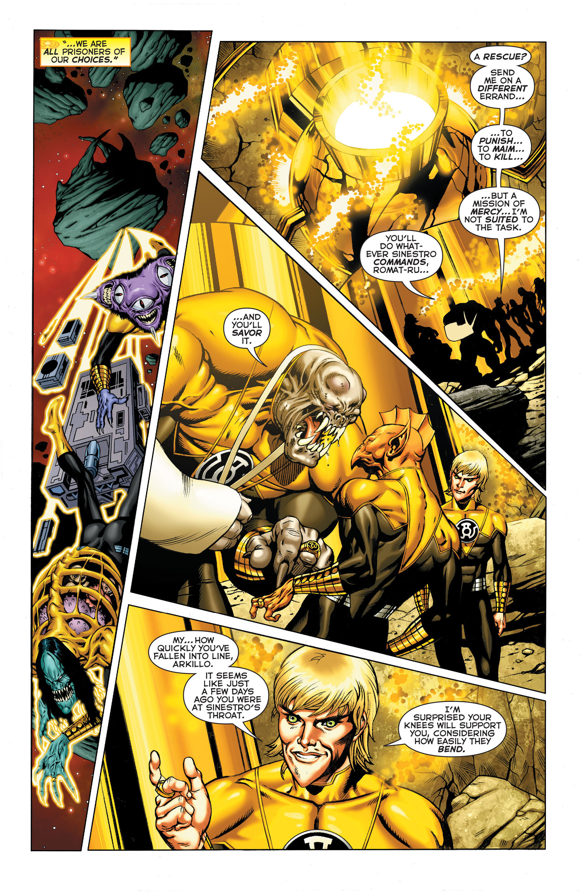 Read online Sinestro comic -  Issue #3 - 11