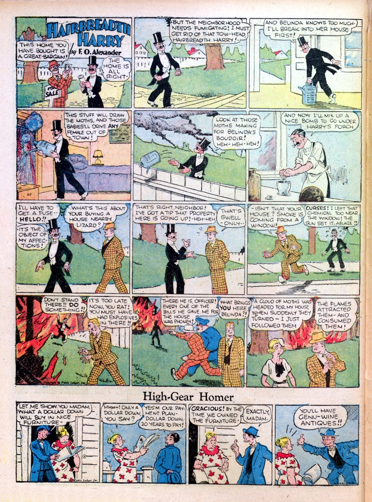 Read online Famous Funnies comic -  Issue #27 - 58