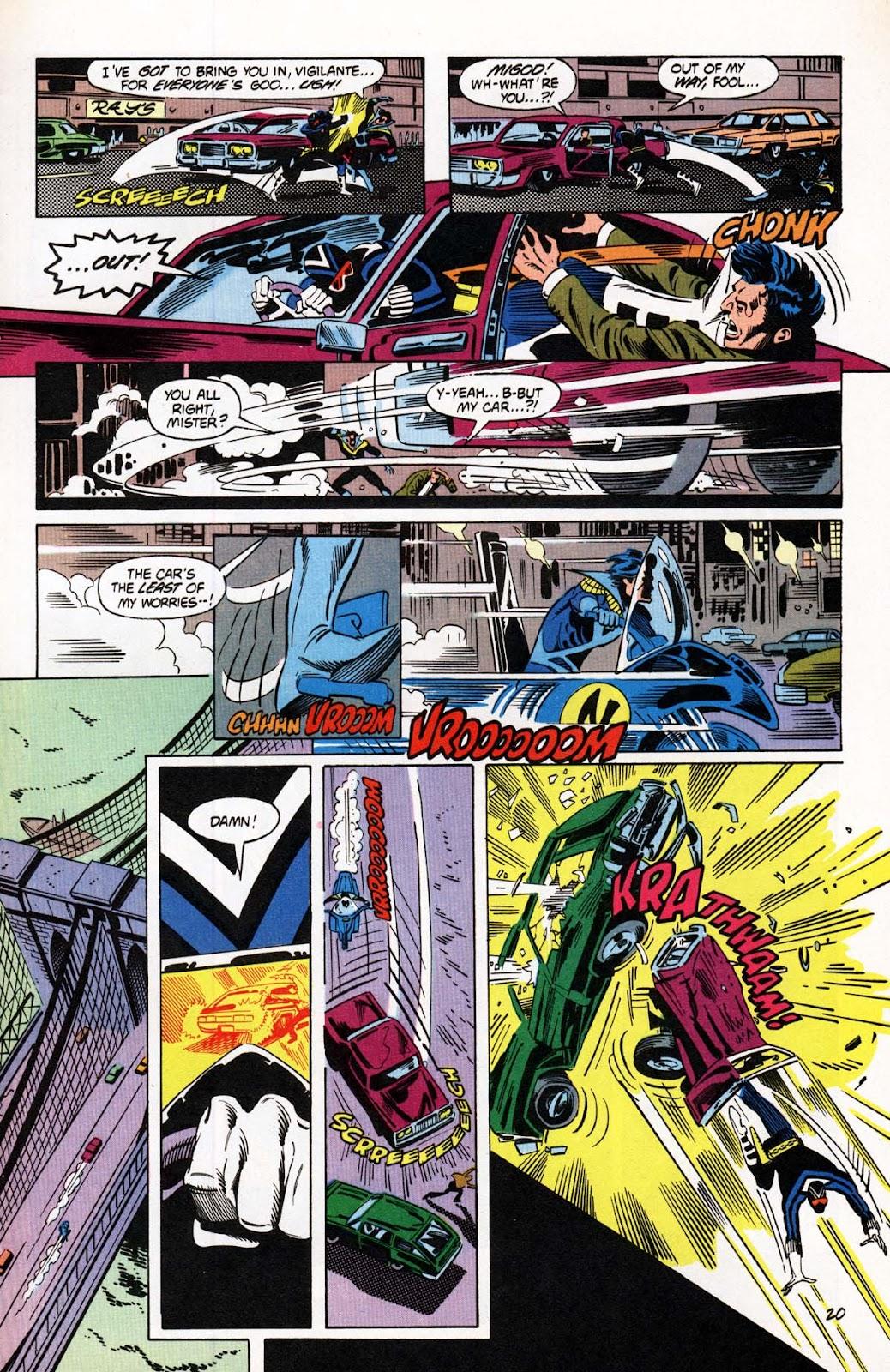 Vigilante (1983) issue 20 - Page 21