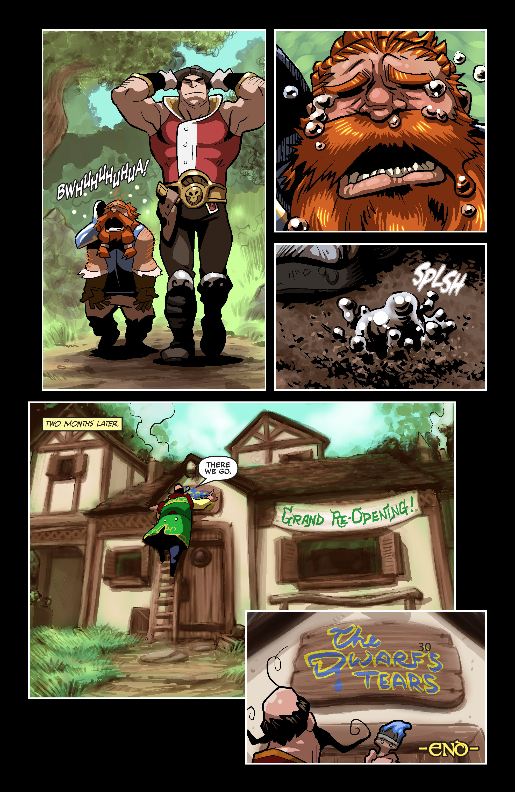 Read online Skullkickers comic -  Issue #18 - 22