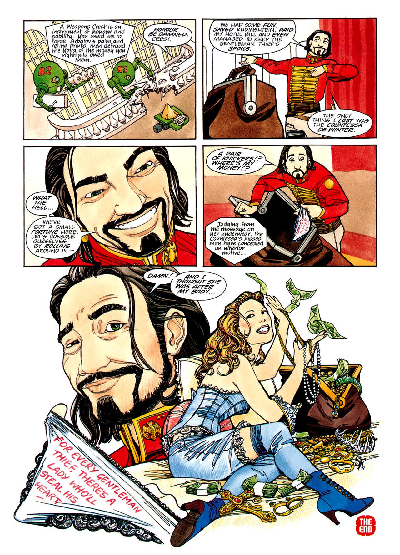 Read online Nikolai Dante comic -  Issue # TPB 1 - 123
