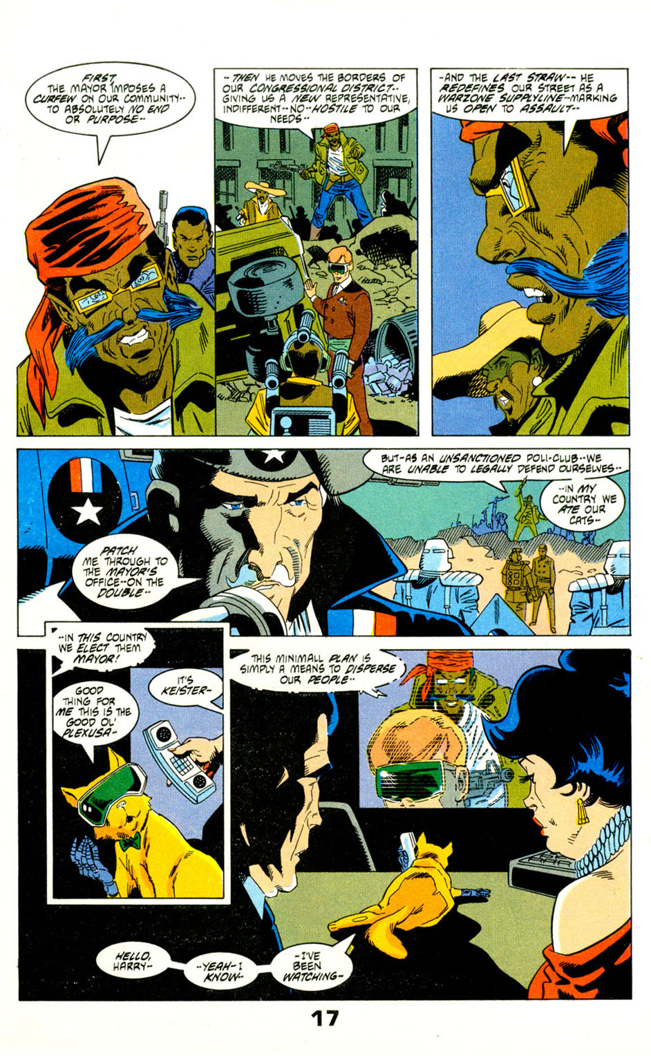 Read online American Flagg! comic -  Issue #29 - 20