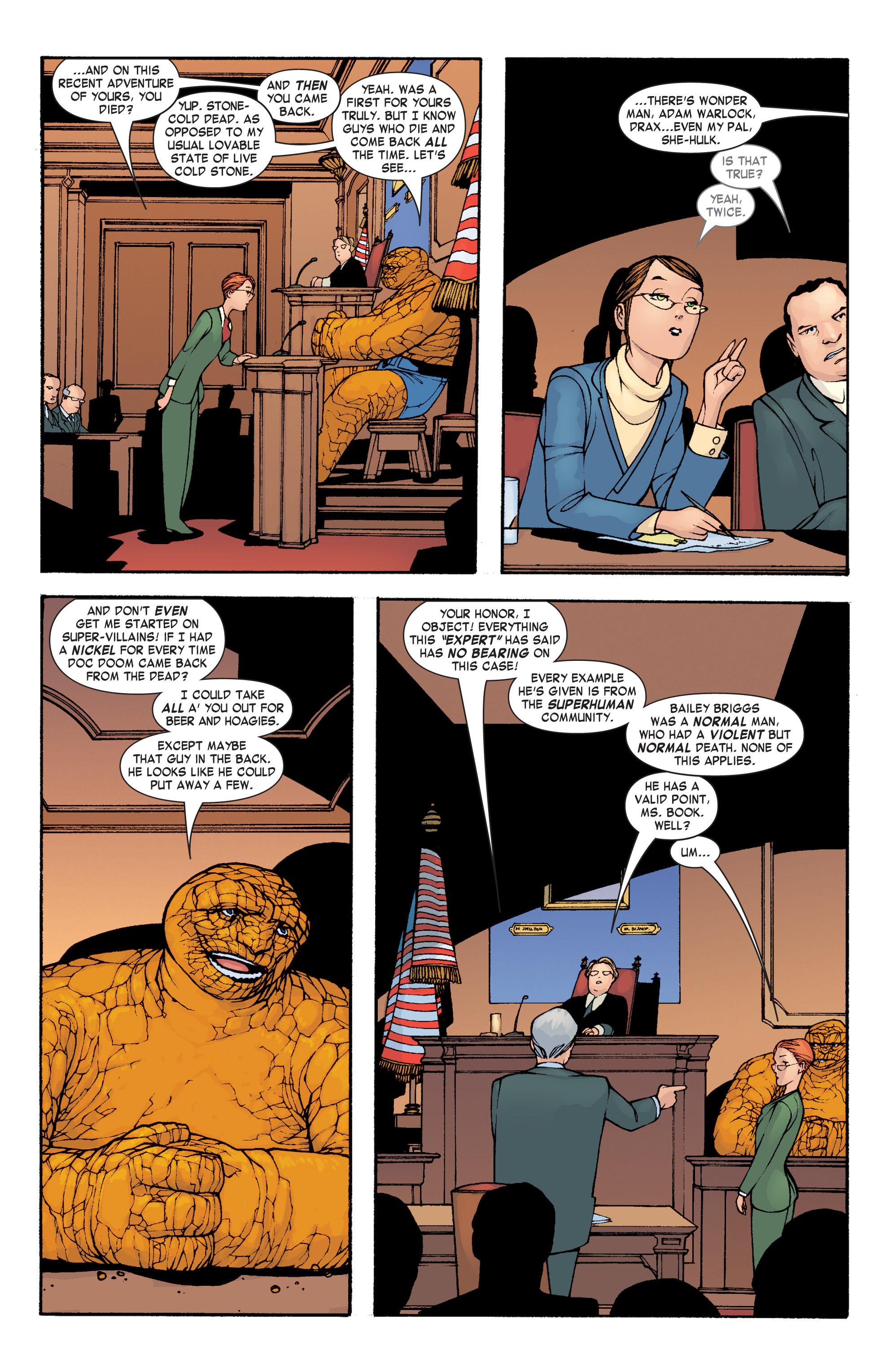 Read online She-Hulk (2004) comic -  Issue #3 - 14