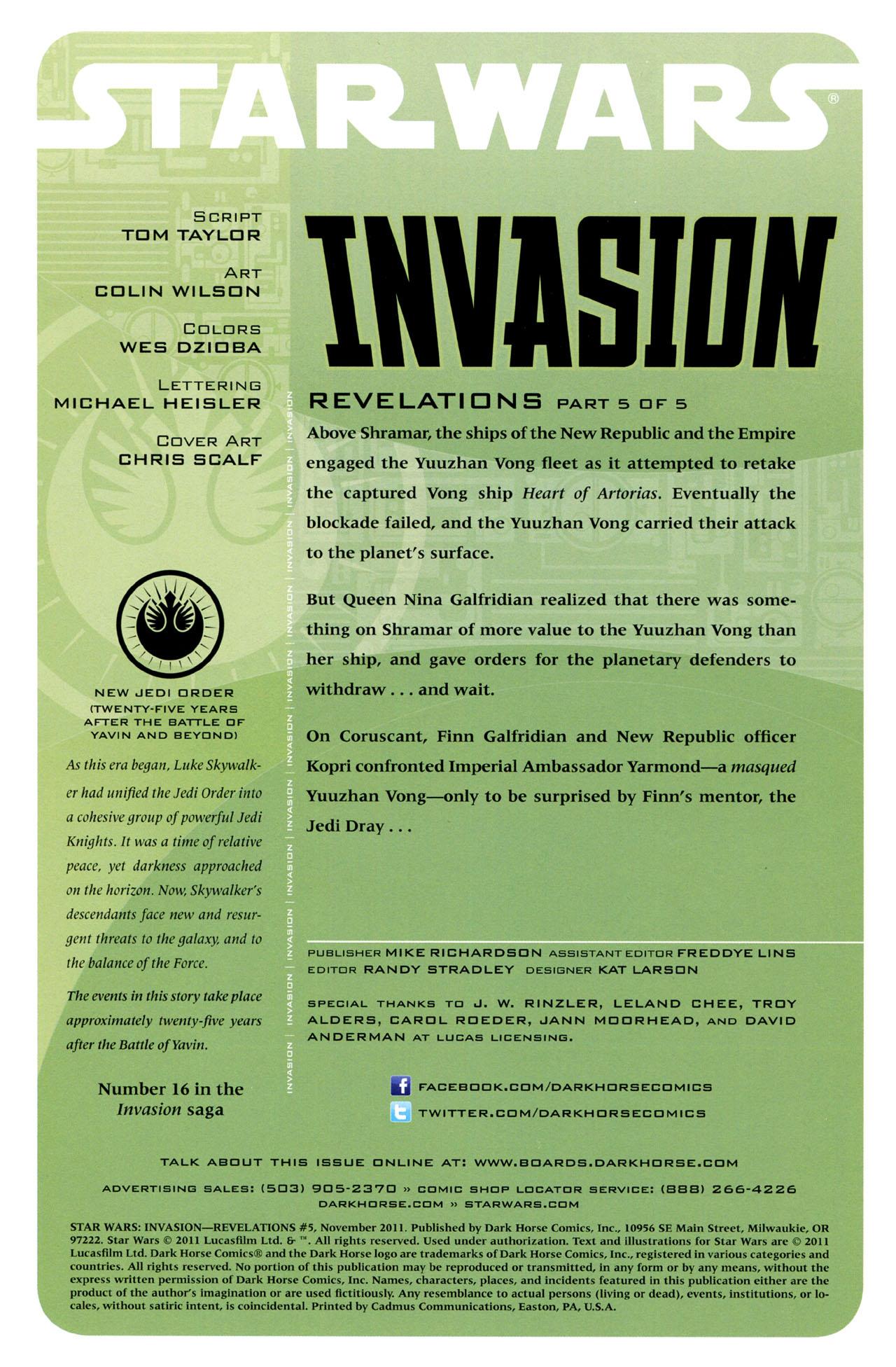 Star Wars: Invasion - Revelations 5 Page 2