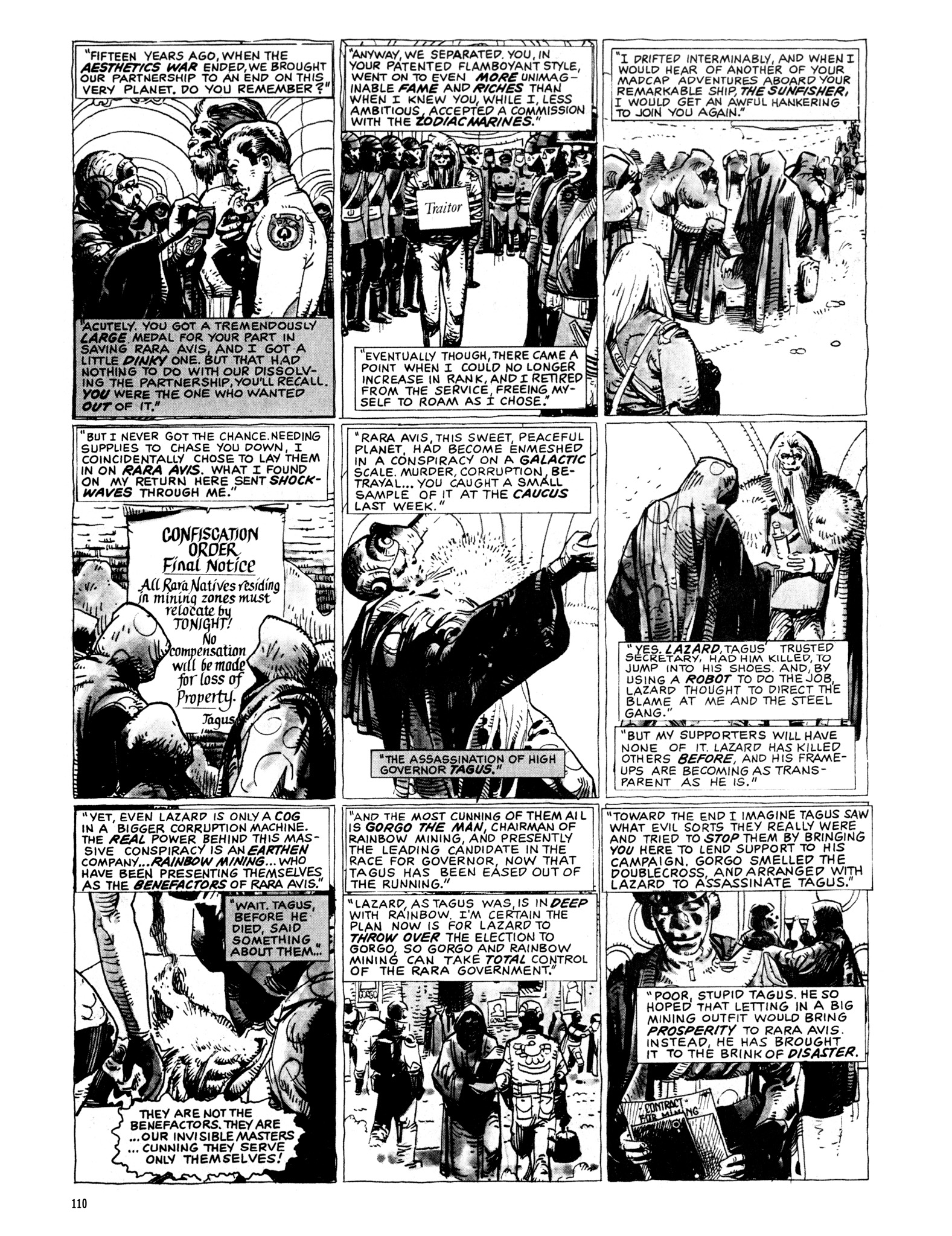 Read online Eerie Archives comic -  Issue # TPB 20 - 110