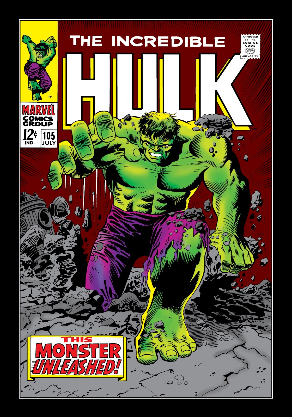 Read online Marvel Masterworks: The Incredible Hulk comic -  Issue # TPB 4 (Part 1) - 49