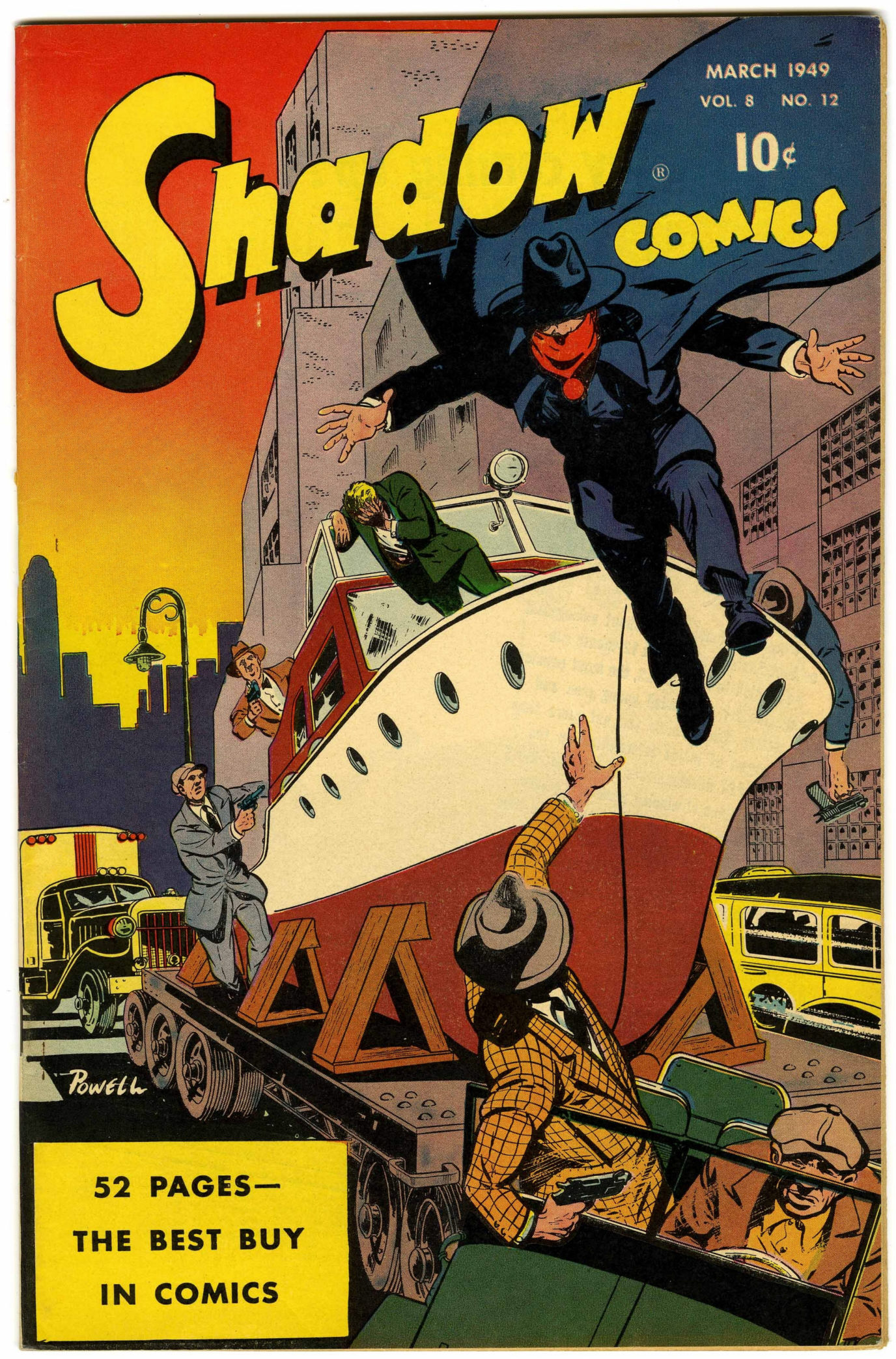 Read online Shadow Comics comic -  Issue #96 - 1