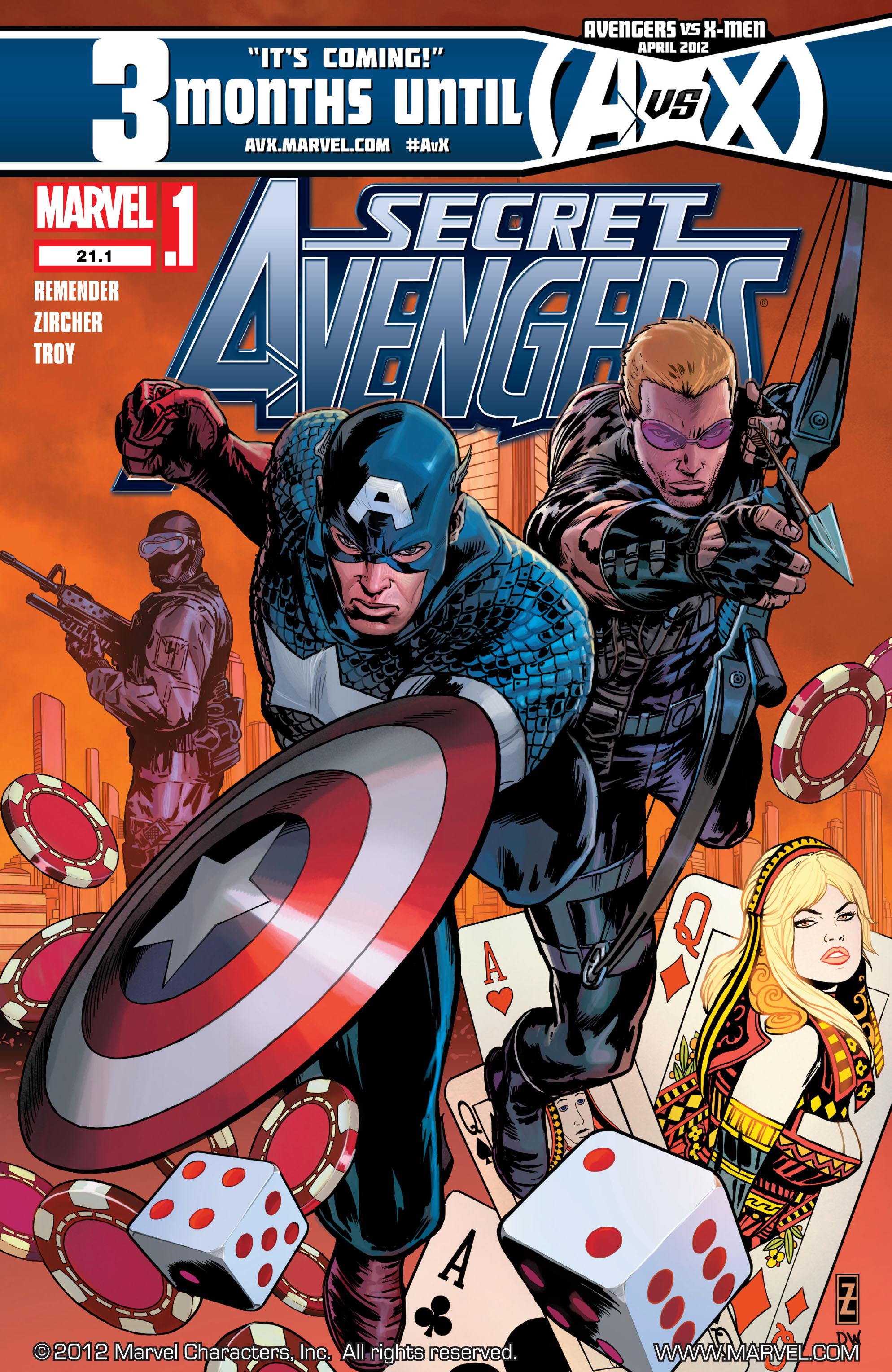 Read online Secret Avengers (2010) comic -  Issue #21.1 - 1