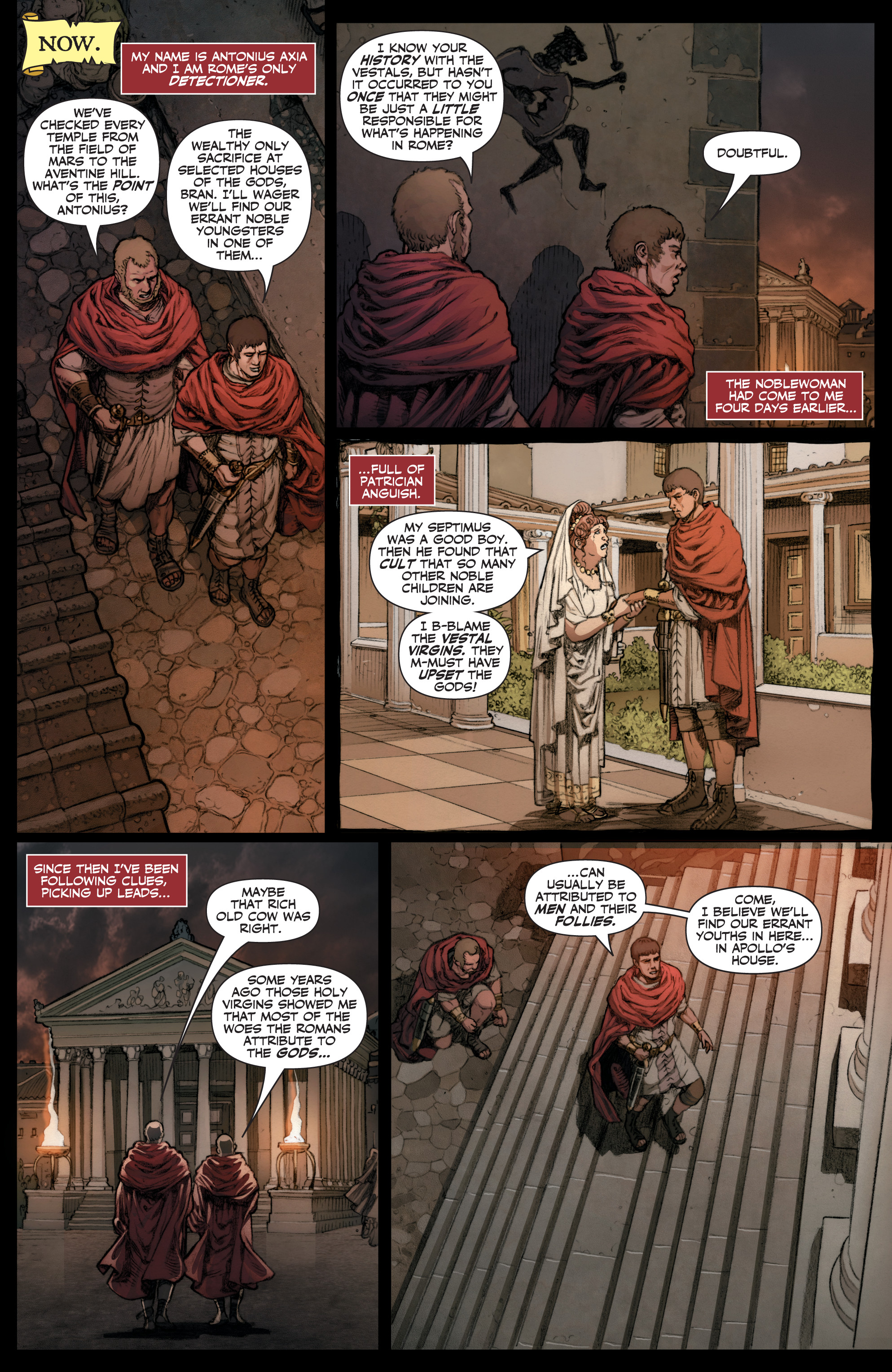 Read online Britannia: We Who Are About To Die comic -  Issue #1 - 8