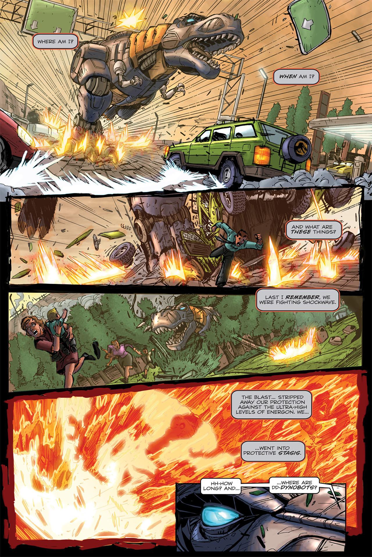 Read online Transformers Spotlight: Grimlock comic -  Issue # Full - 14