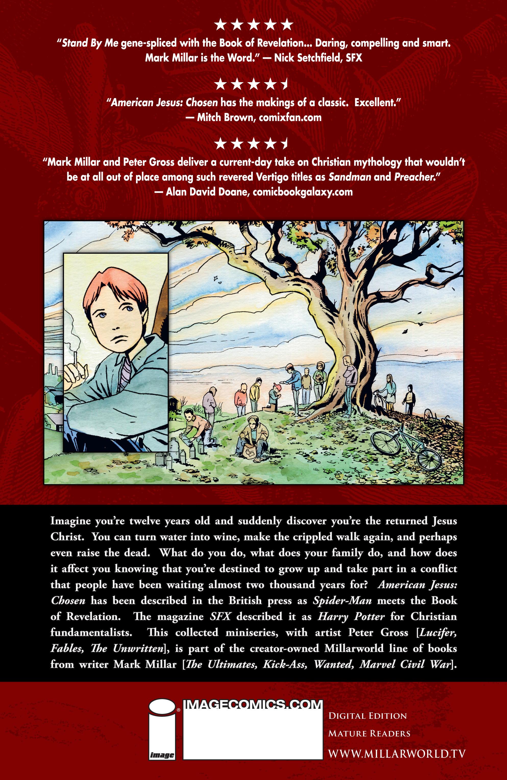 Read online American Jesus comic -  Issue # TPB - 99