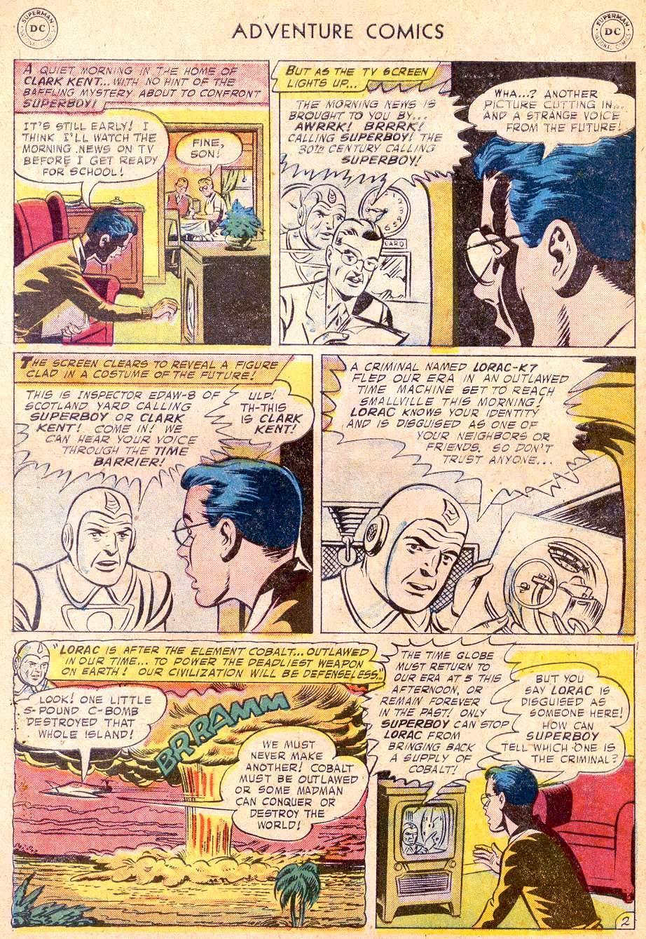 Read online Adventure Comics (1938) comic -  Issue #250 - 4