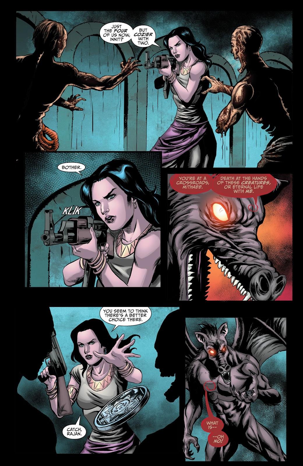 Read online Van Helsing: Sword of Heaven comic -  Issue #6 - 19