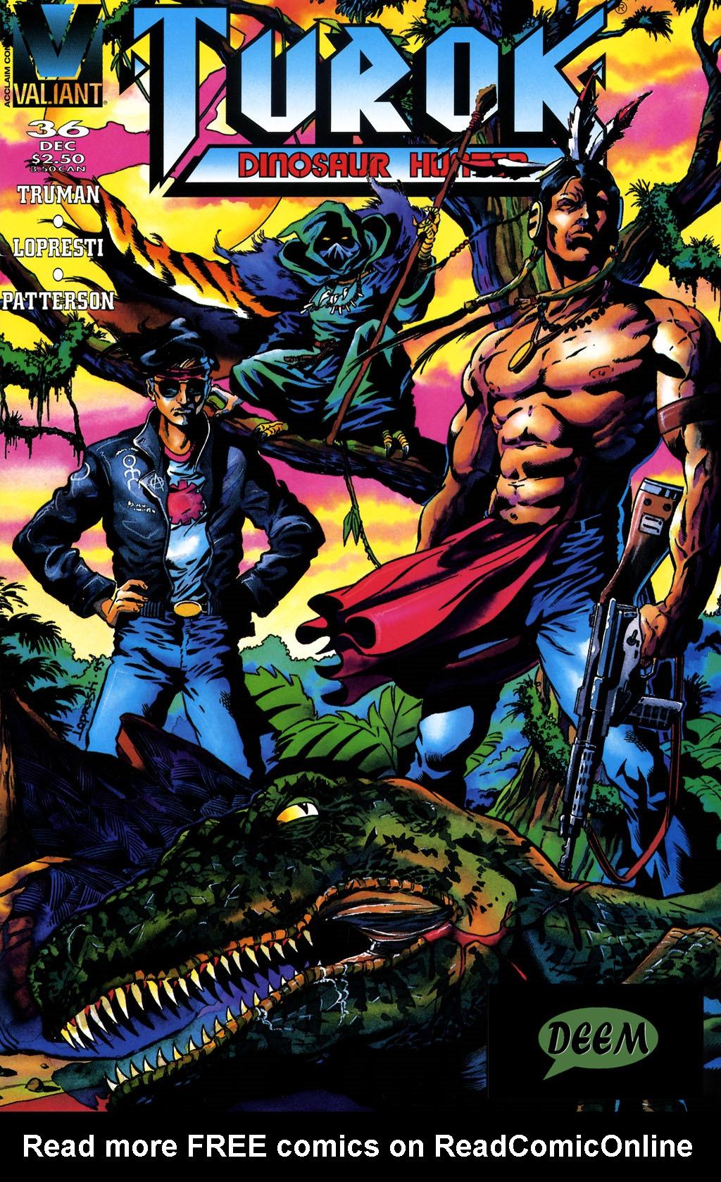 Read online Turok, Dinosaur Hunter (1993) comic -  Issue #36 - 1