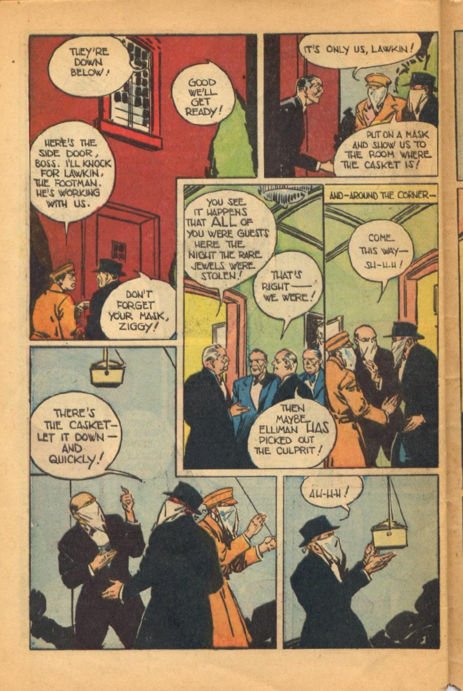 Read online Super-Magician Comics comic -  Issue #52 - 43