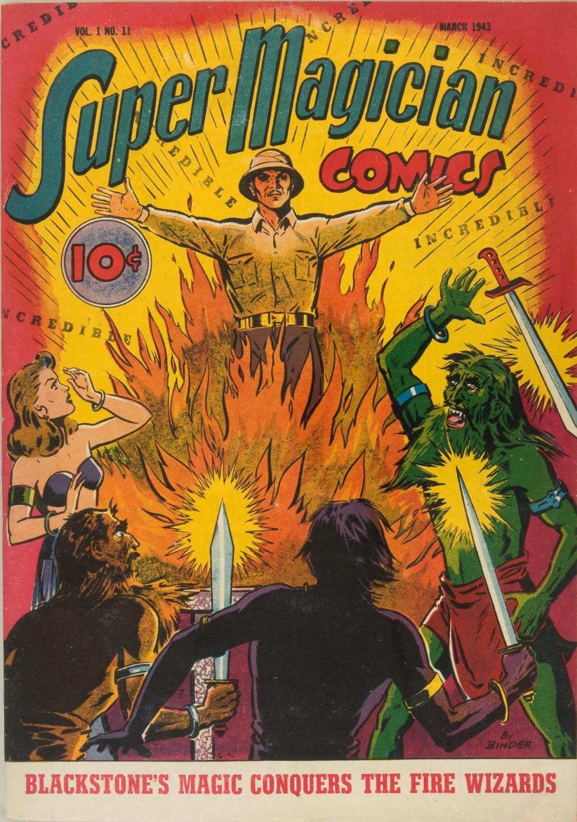 Read online Super-Magician Comics comic -  Issue #11 - 1