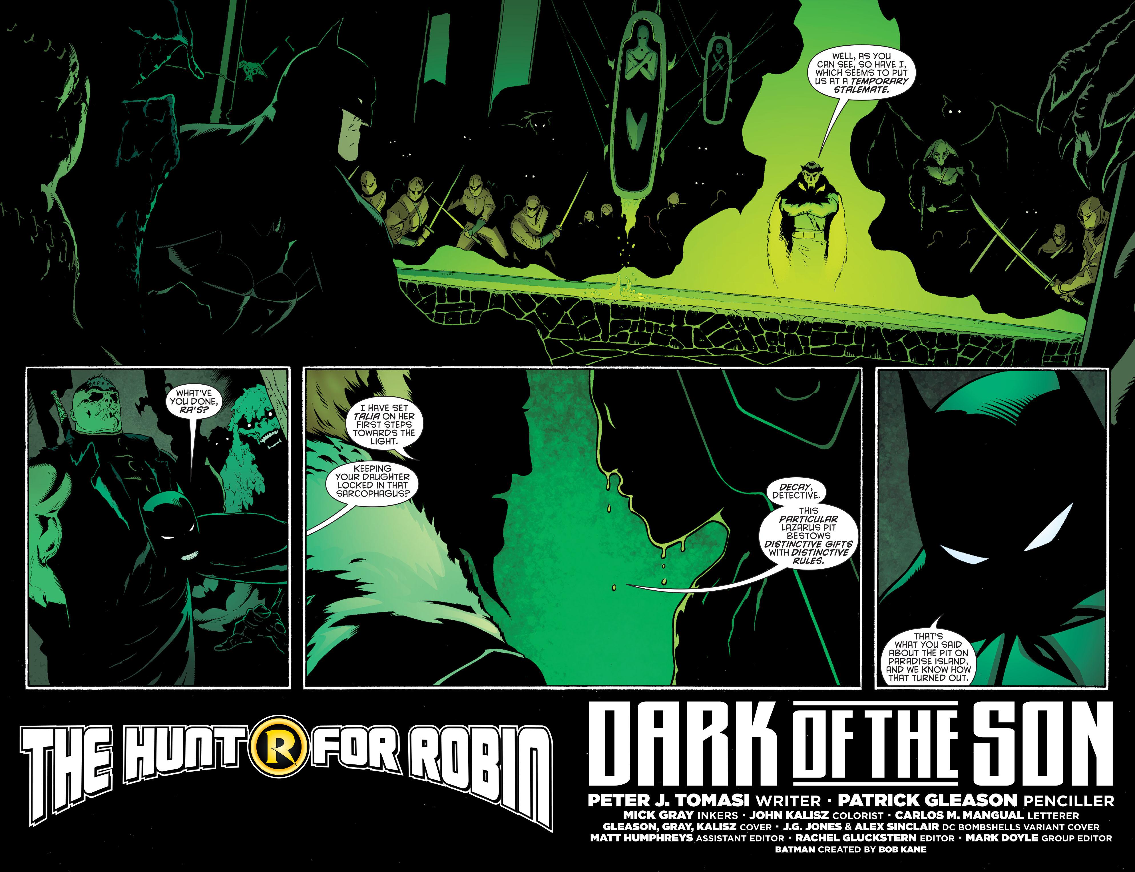 Read online Batman and Robin (2011) comic -  Issue #32 - Batman and Ra's al Ghul - 3