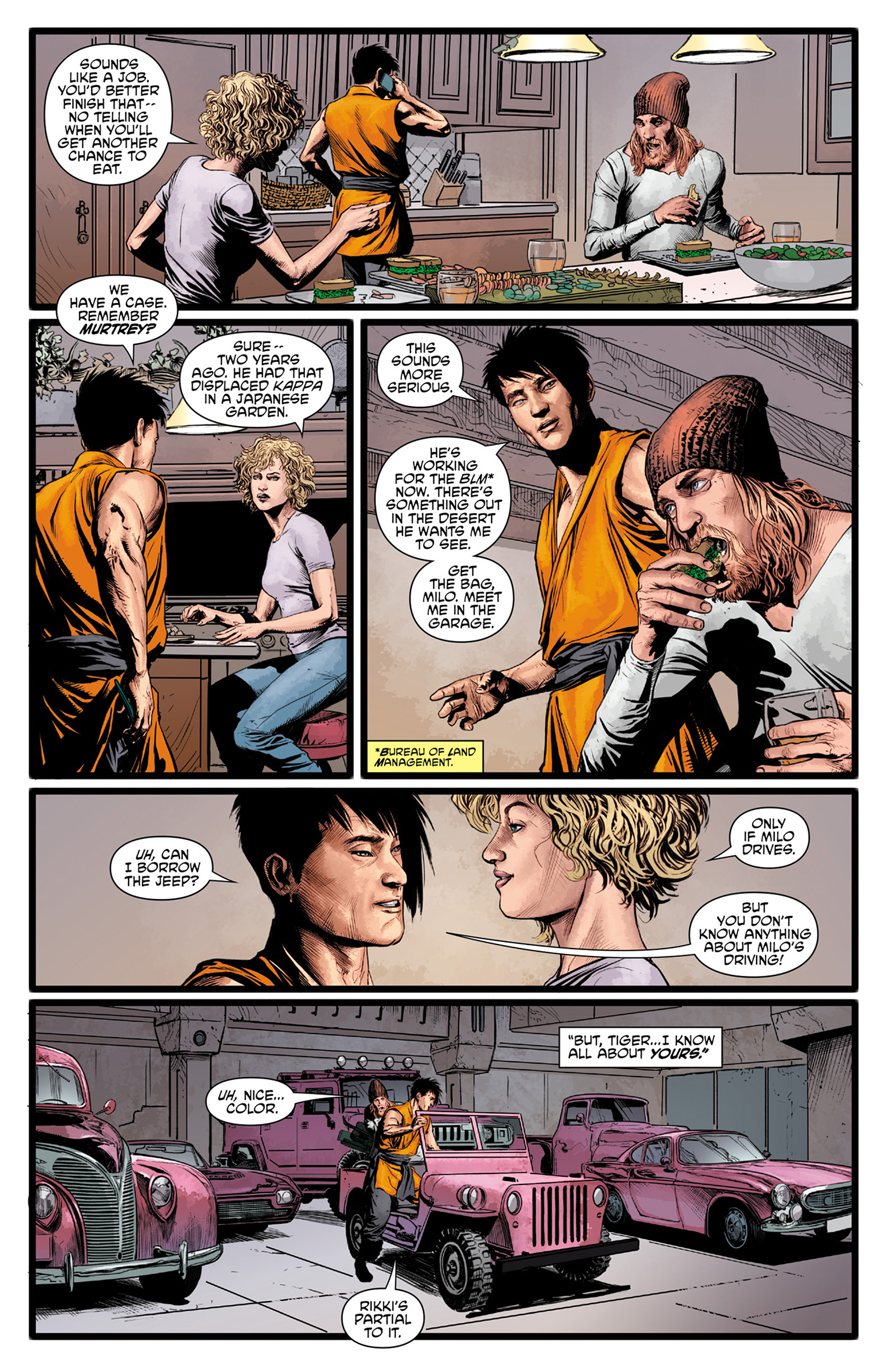 Read online King Tiger comic -  Issue #1 - 16