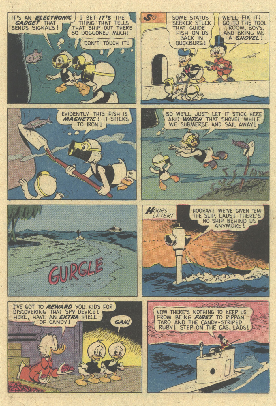Read online Uncle Scrooge (1953) comic -  Issue #174 - 15