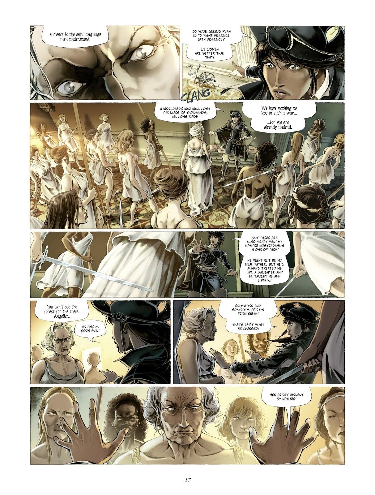 Read online Arthus Trivium comic -  Issue #4 - 19