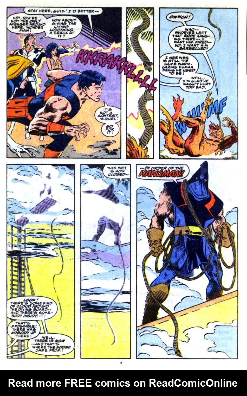 Avengers West Coast (1989) issue 76 - Page 6