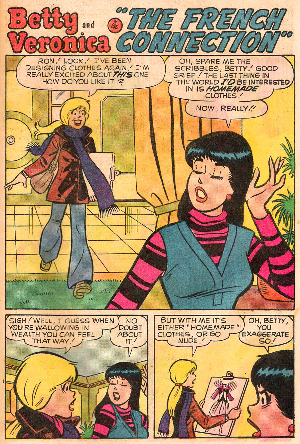 Read online Archie's Girls Betty and Veronica comic -  Issue #245 - 29